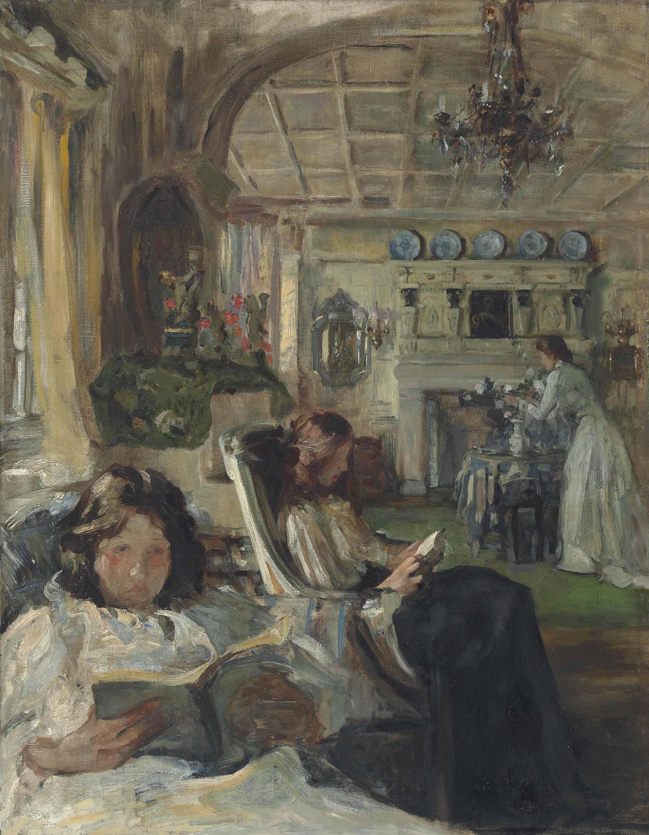 The Drawing Room, circa 1900