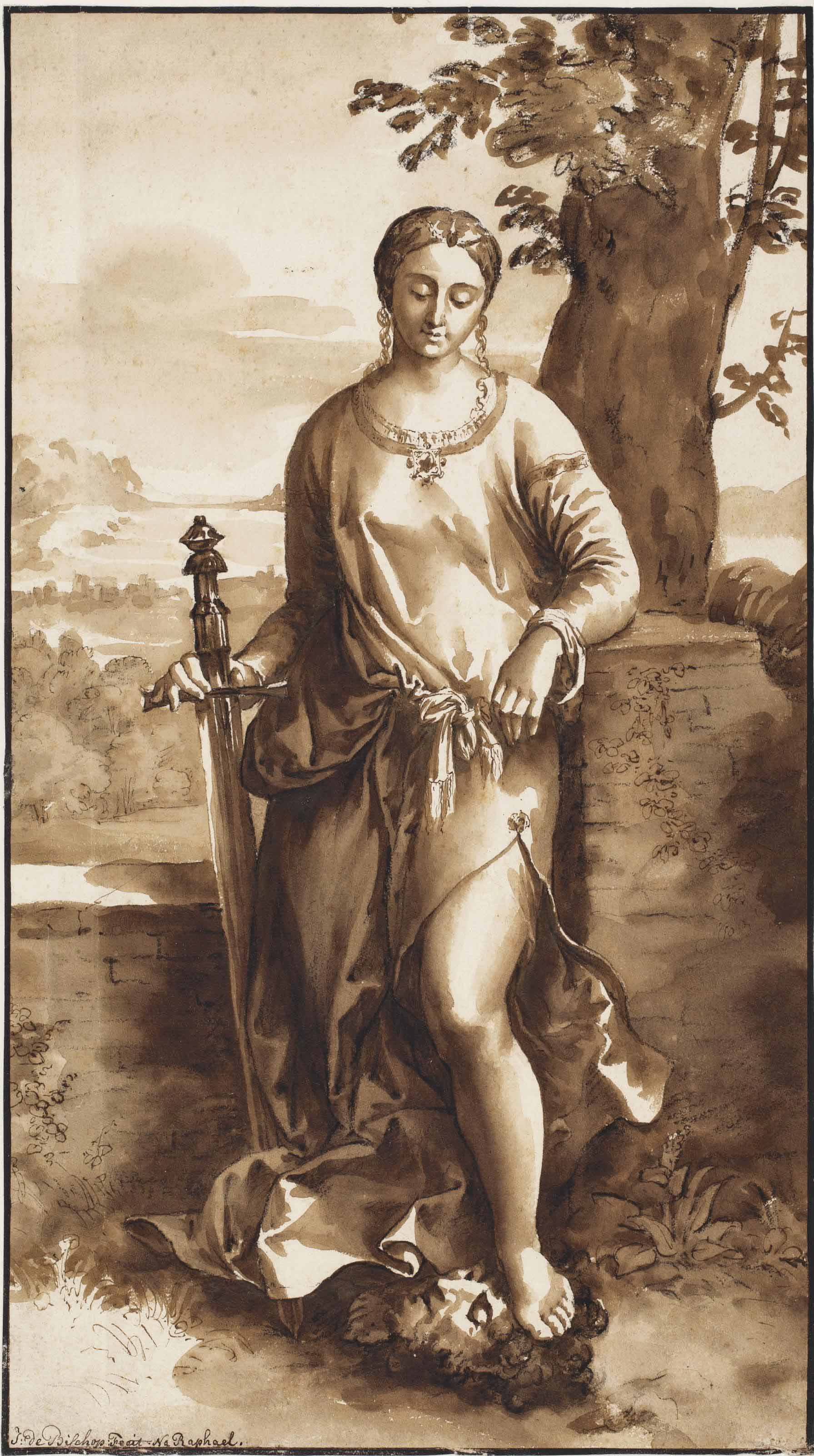 Judith with the Head of Holofernes, after Giorgione