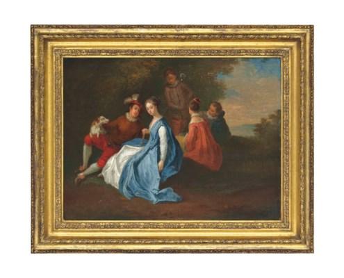 Manner of Antoine Watteau