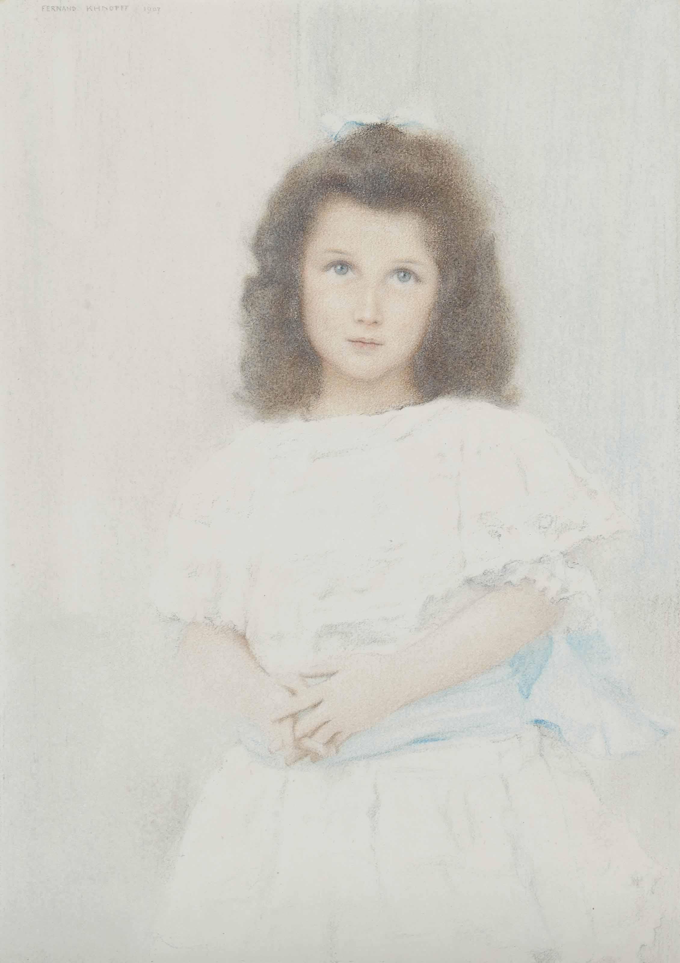 Portrait of a Renée Lambert de Rothschild, daughter of the founder of the Lambert bank