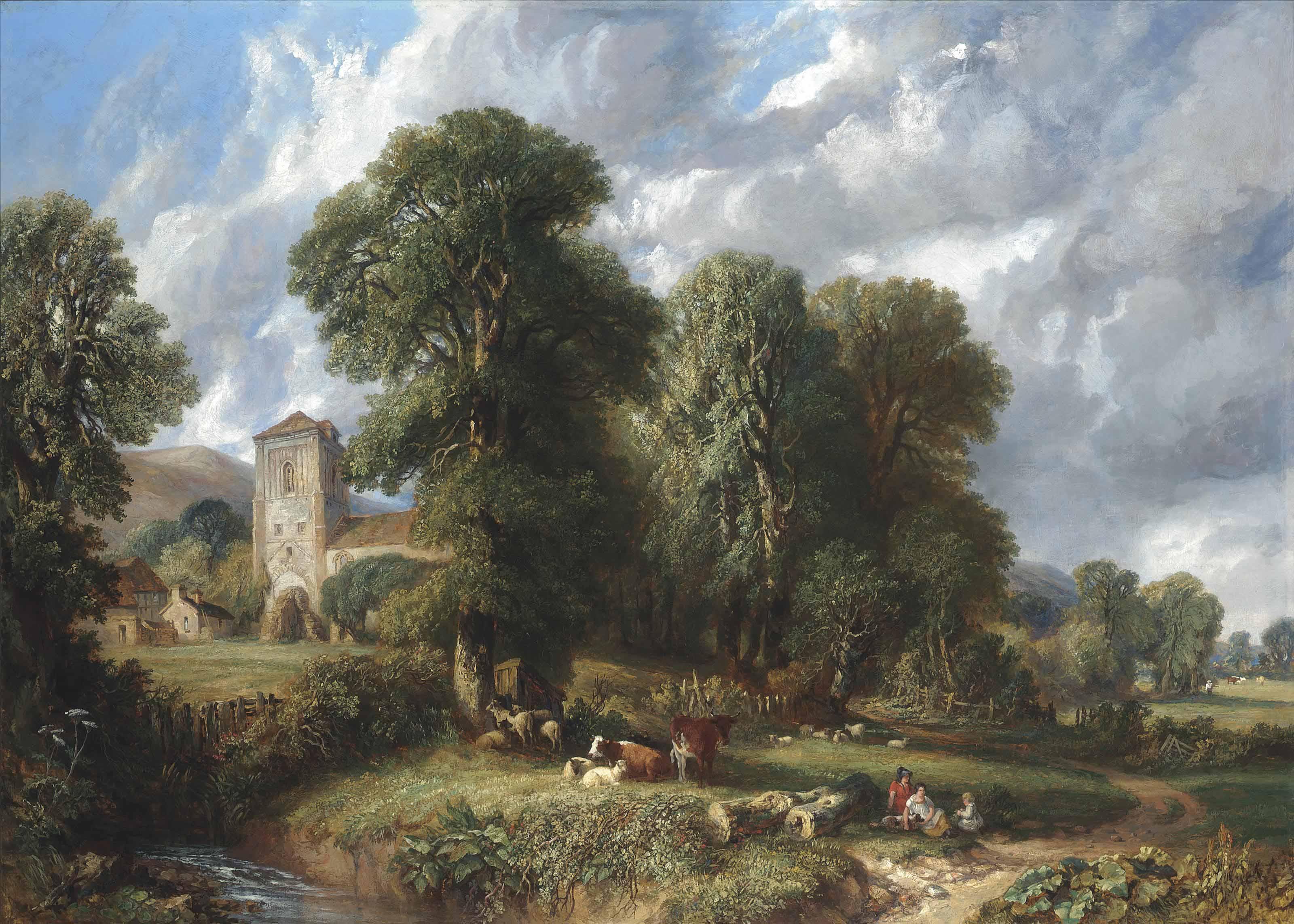 A pastoral idyll