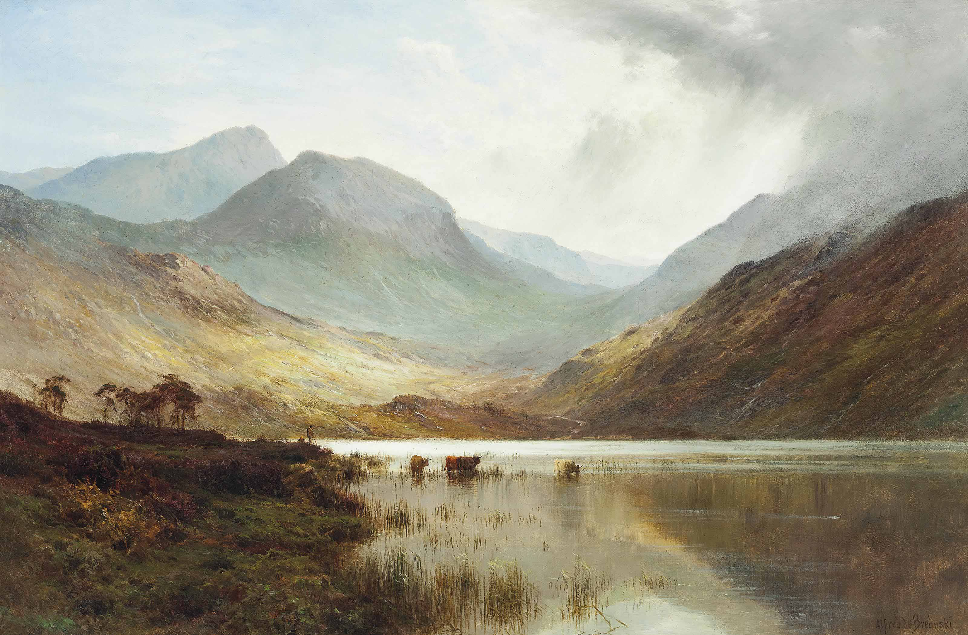 A Perthshire valley