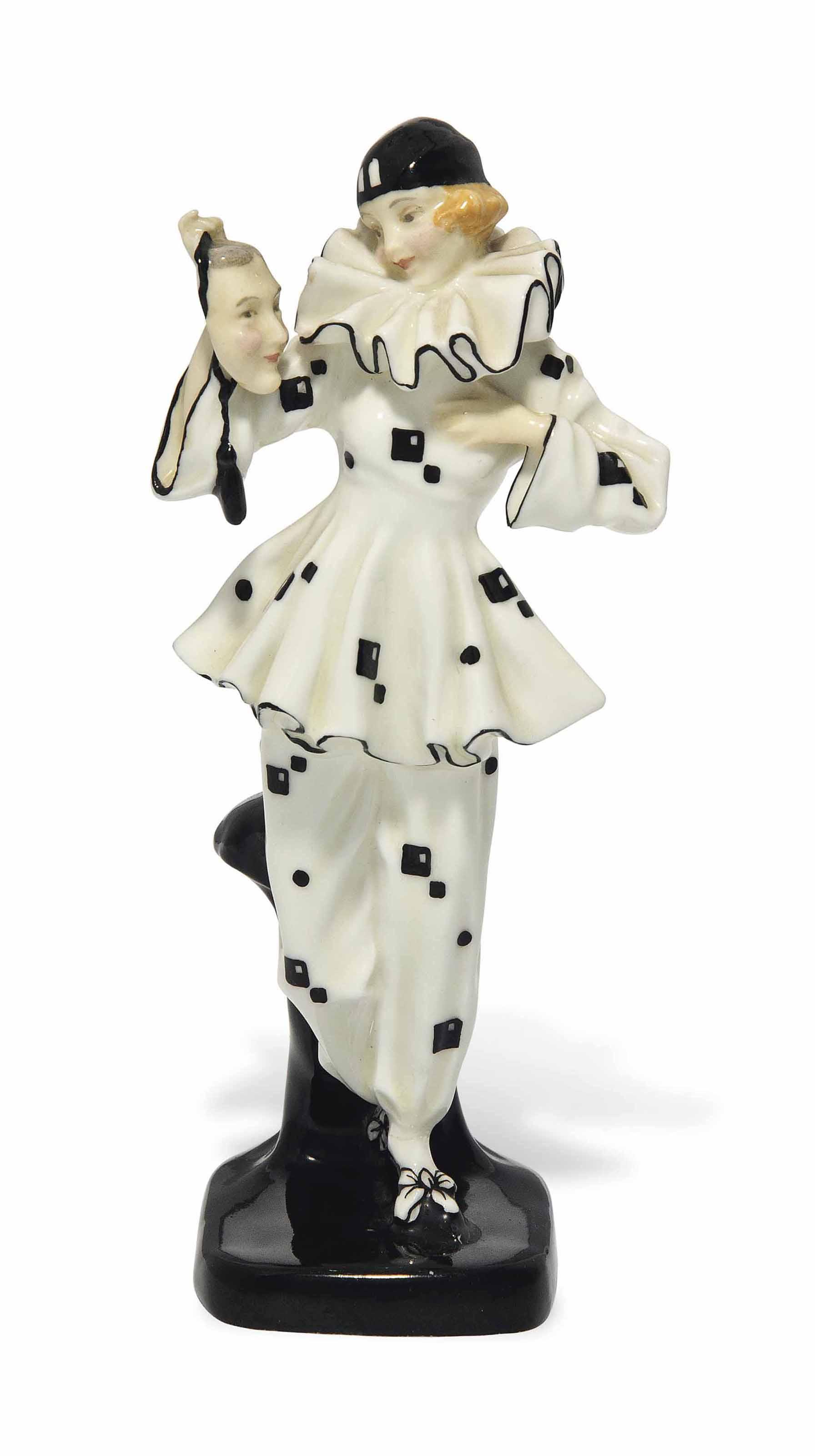 'THE MASK', A ROYAL DOULTON PORCELAIN FIGURE DESIGNED BY LESLIE HARRADINE