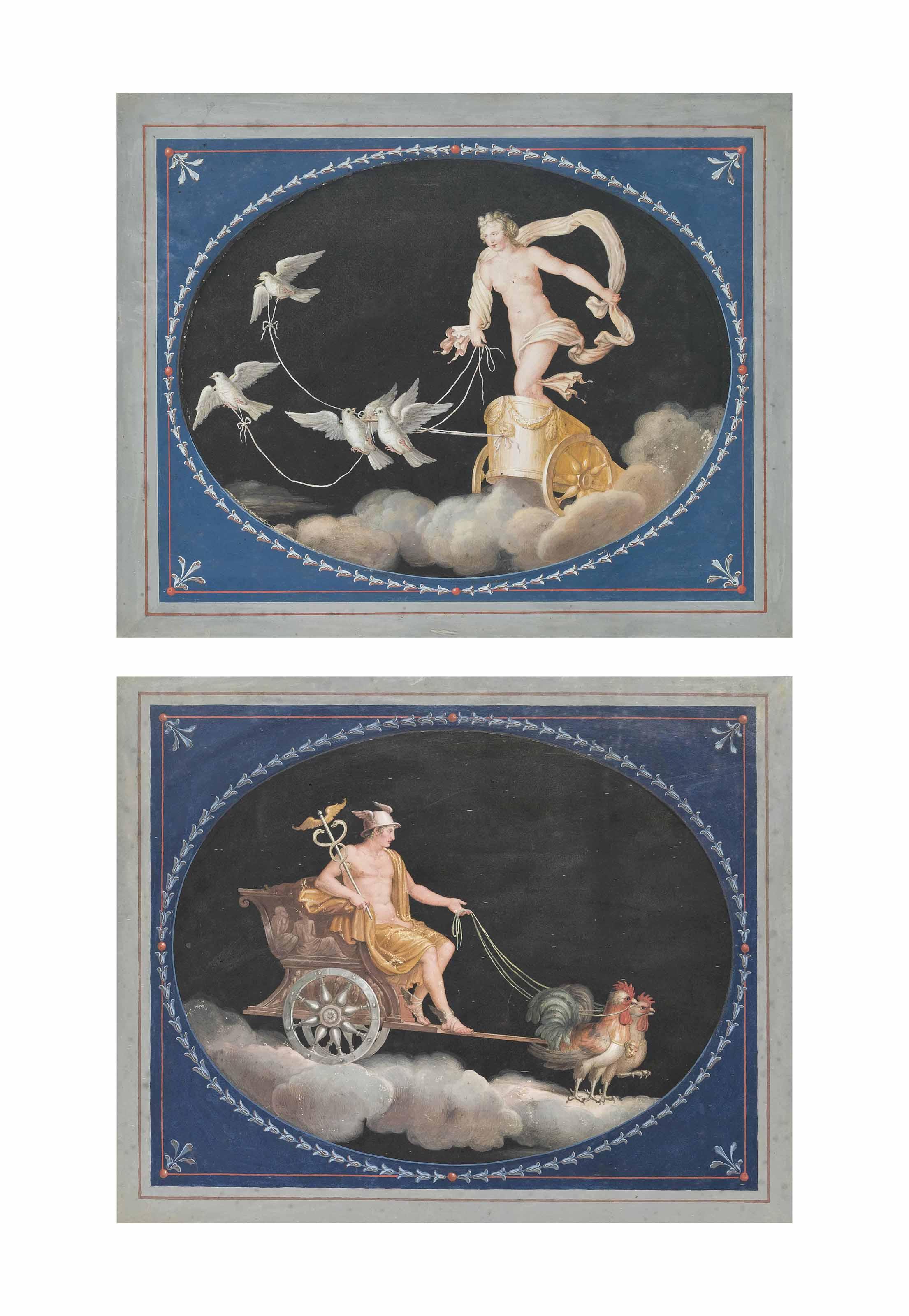 Venus; and Mercury