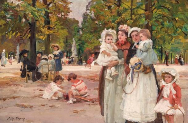 Paul michel dupuy french 1869 1949 au jardin des for Au jardin st michel pontorson