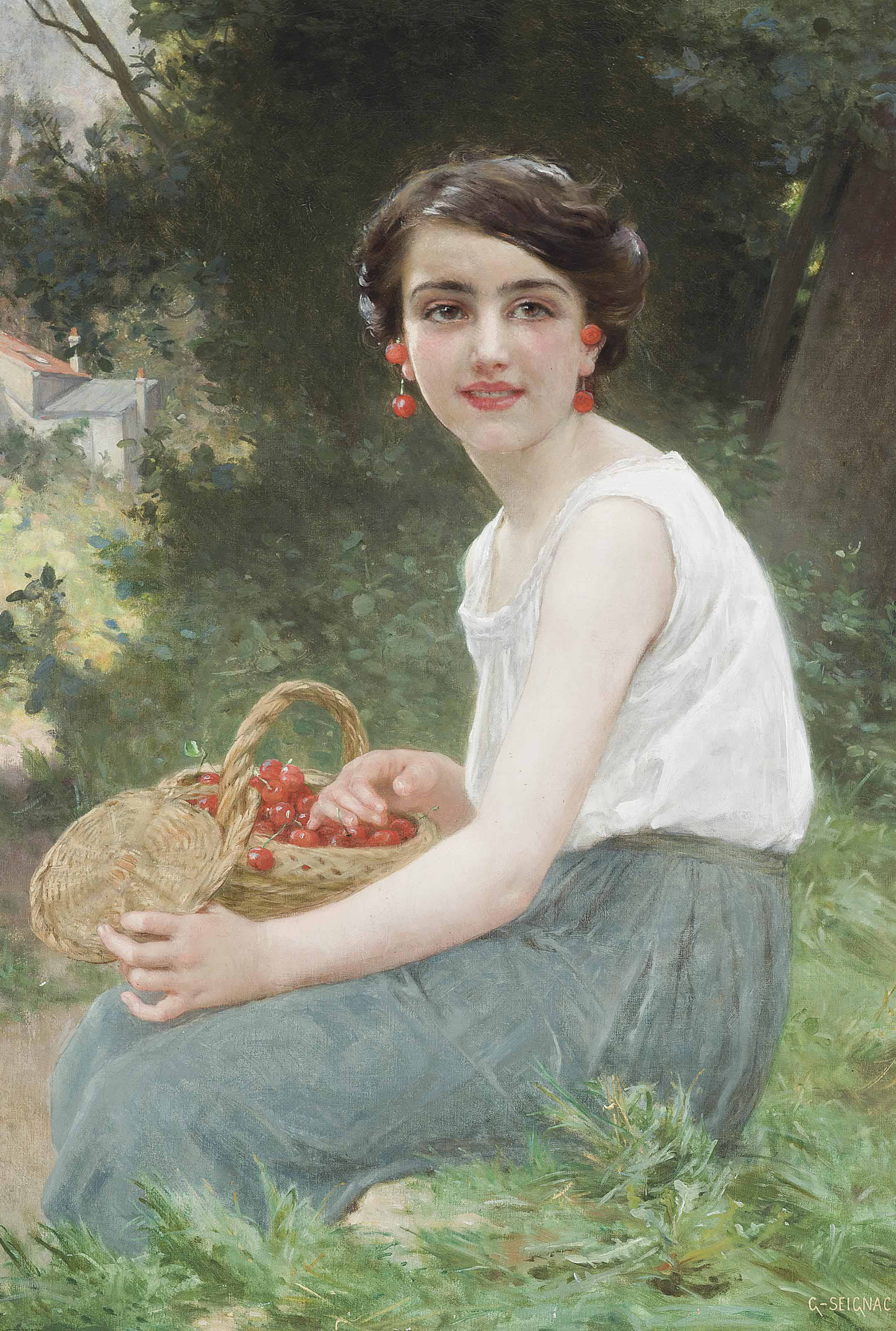 The cherry girl