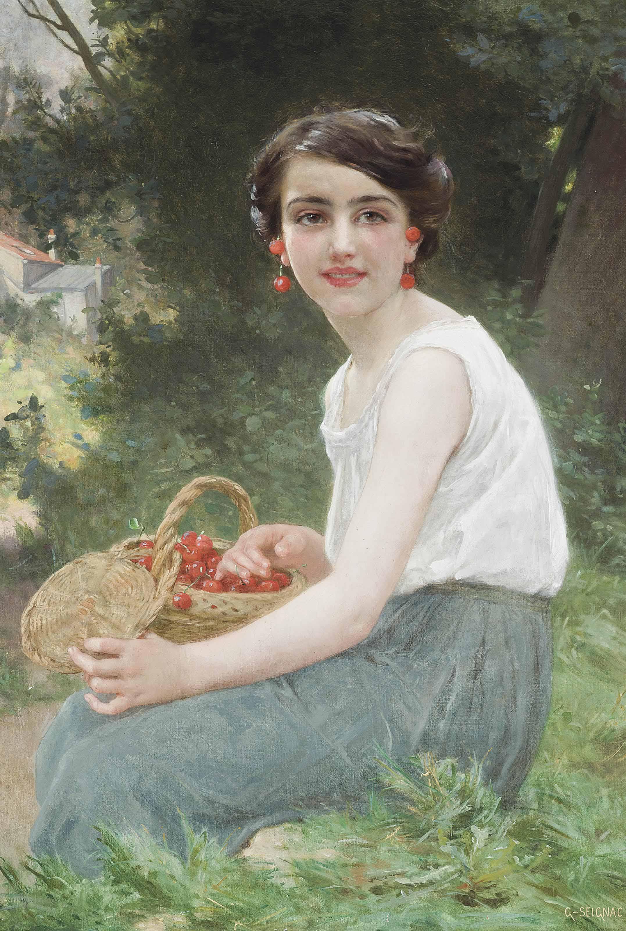 The cherry girl