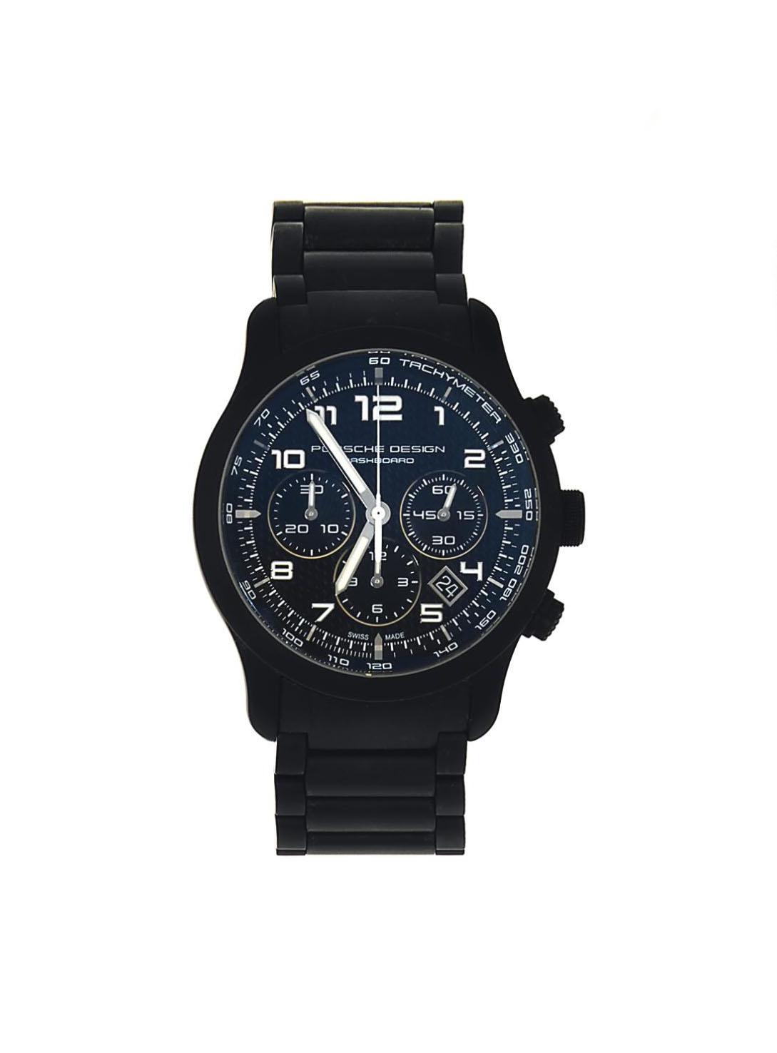 A titanium 'P'6612' chronograph automatic wristwatch, by Porsche