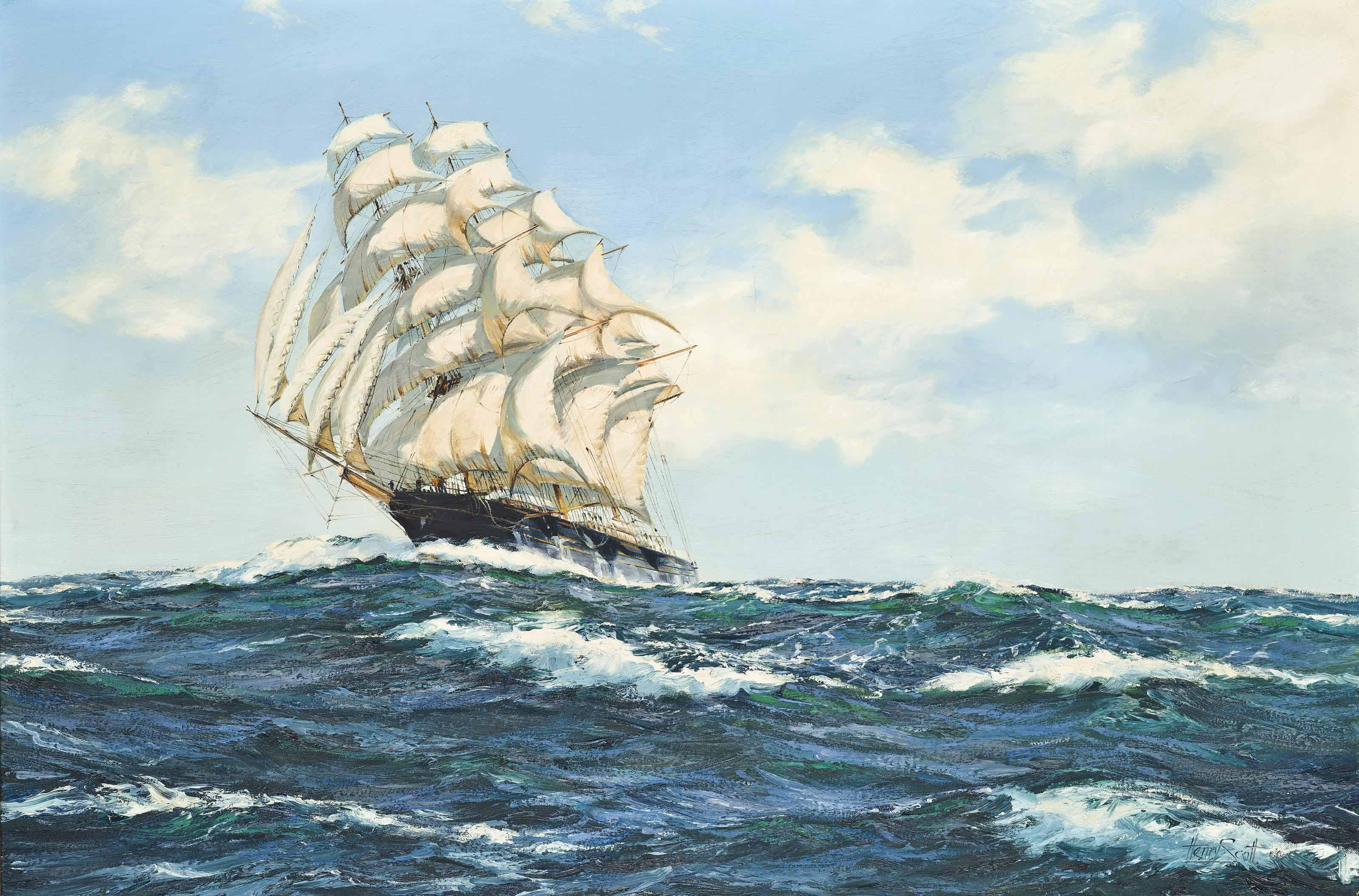 'Forty days out from Melbourne': The American clipper Empress of the Seas