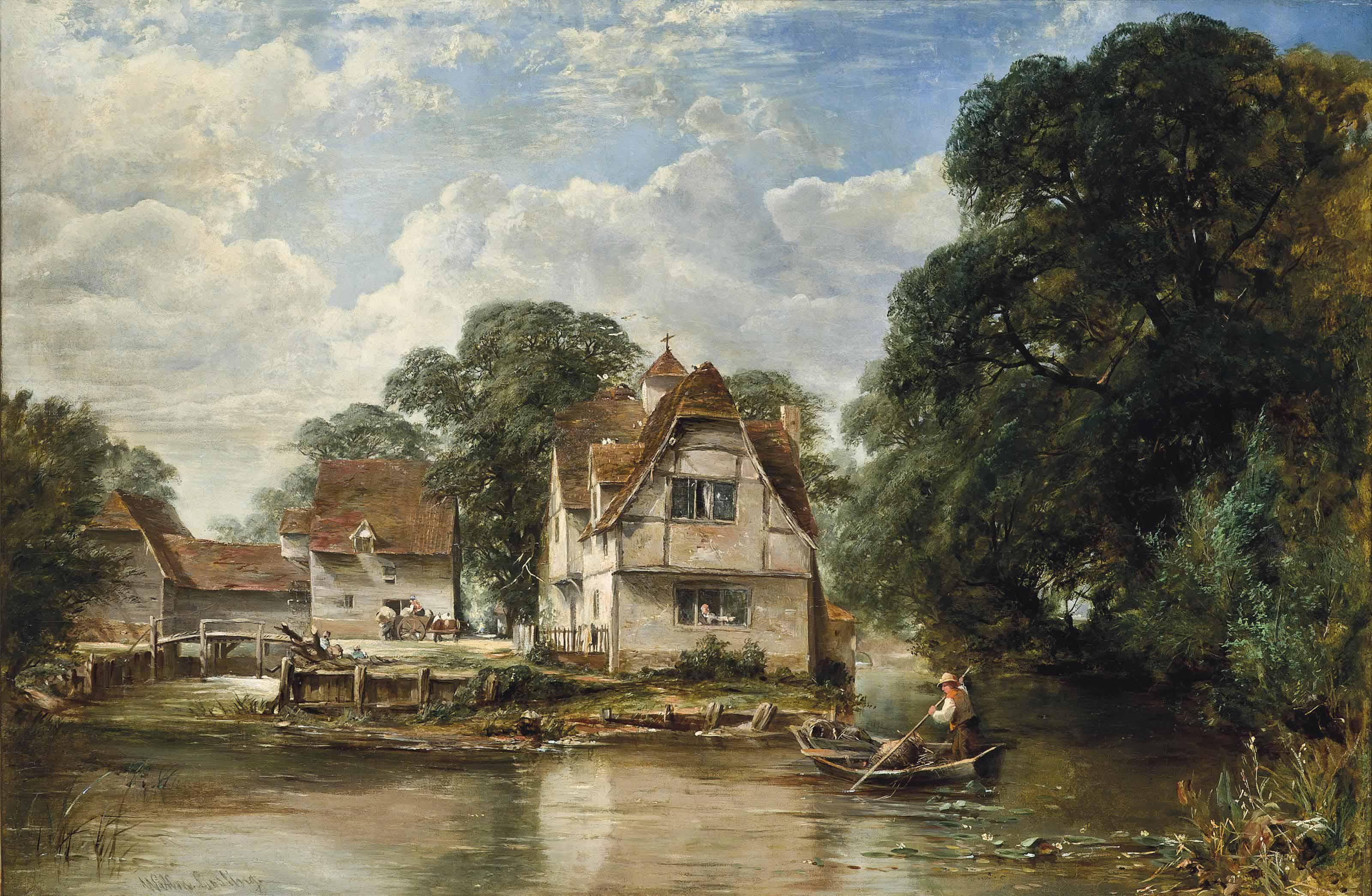 On the Thames near Bray, Berkshire