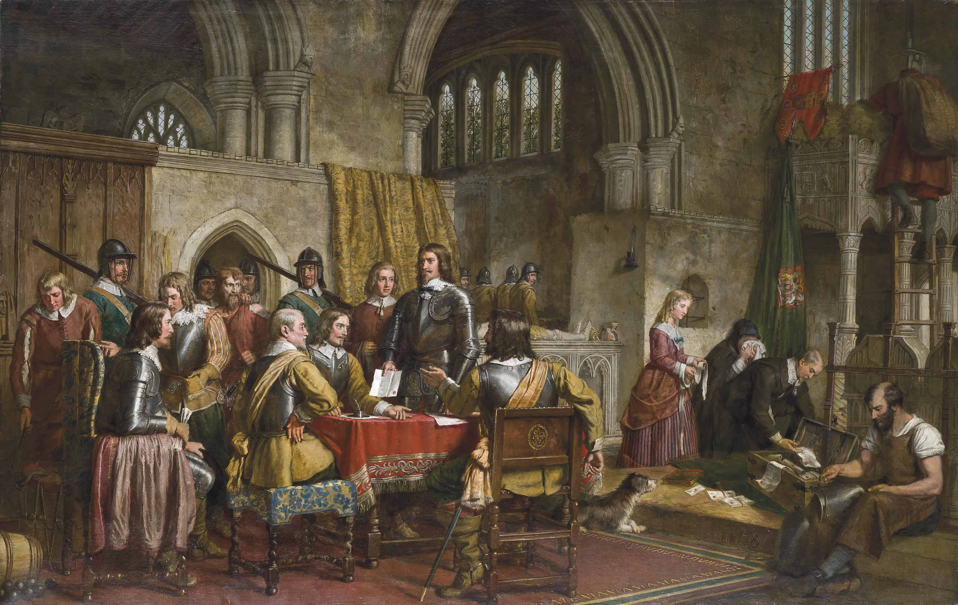 The surrender of Arundel Castle to Sir William Waller, January 6th, 1643