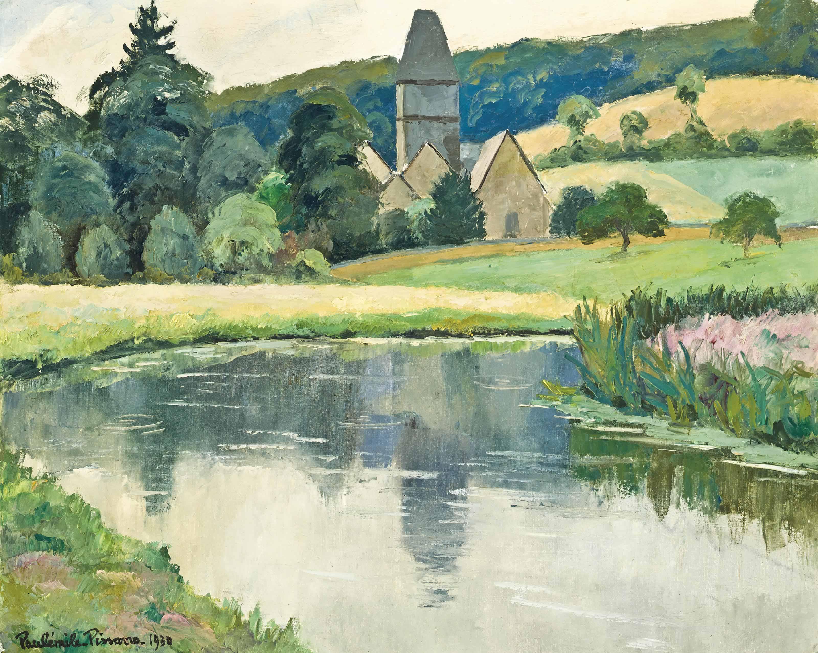 L'église Saint-Denis, Lyons-la-forêt