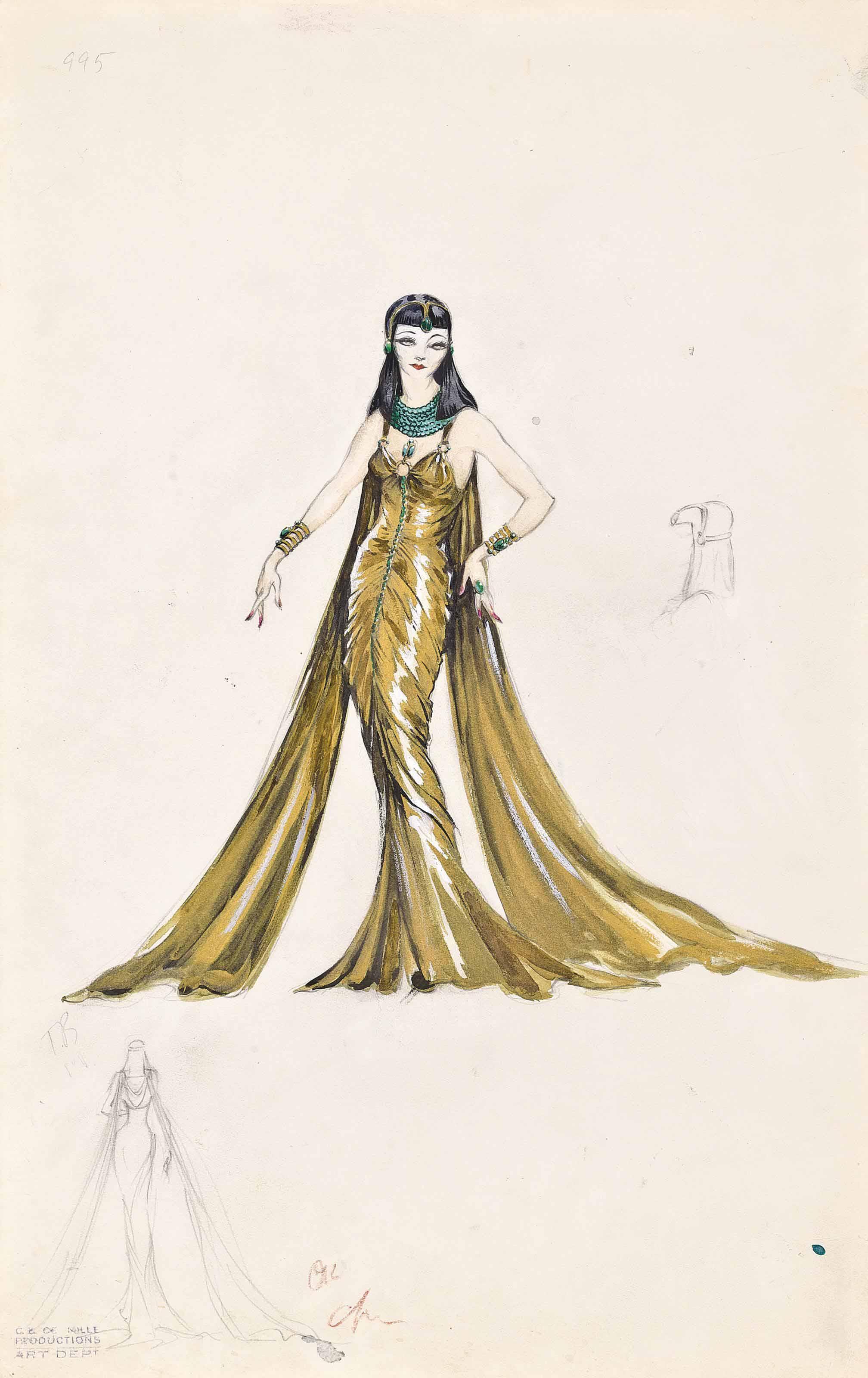 Cleopatra, 1934/Claudette Colb