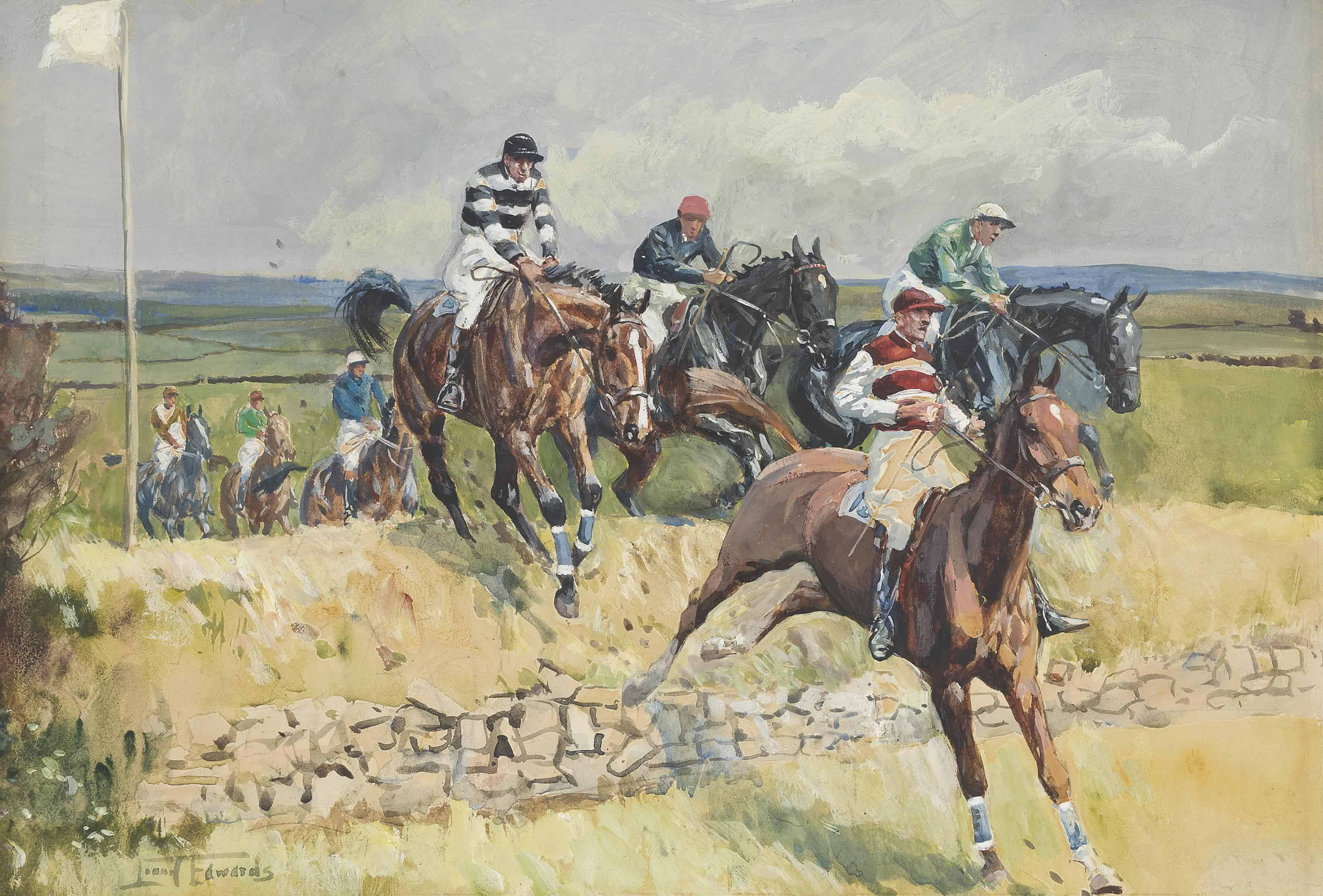 Leaping the fence - an Irish point-to-point