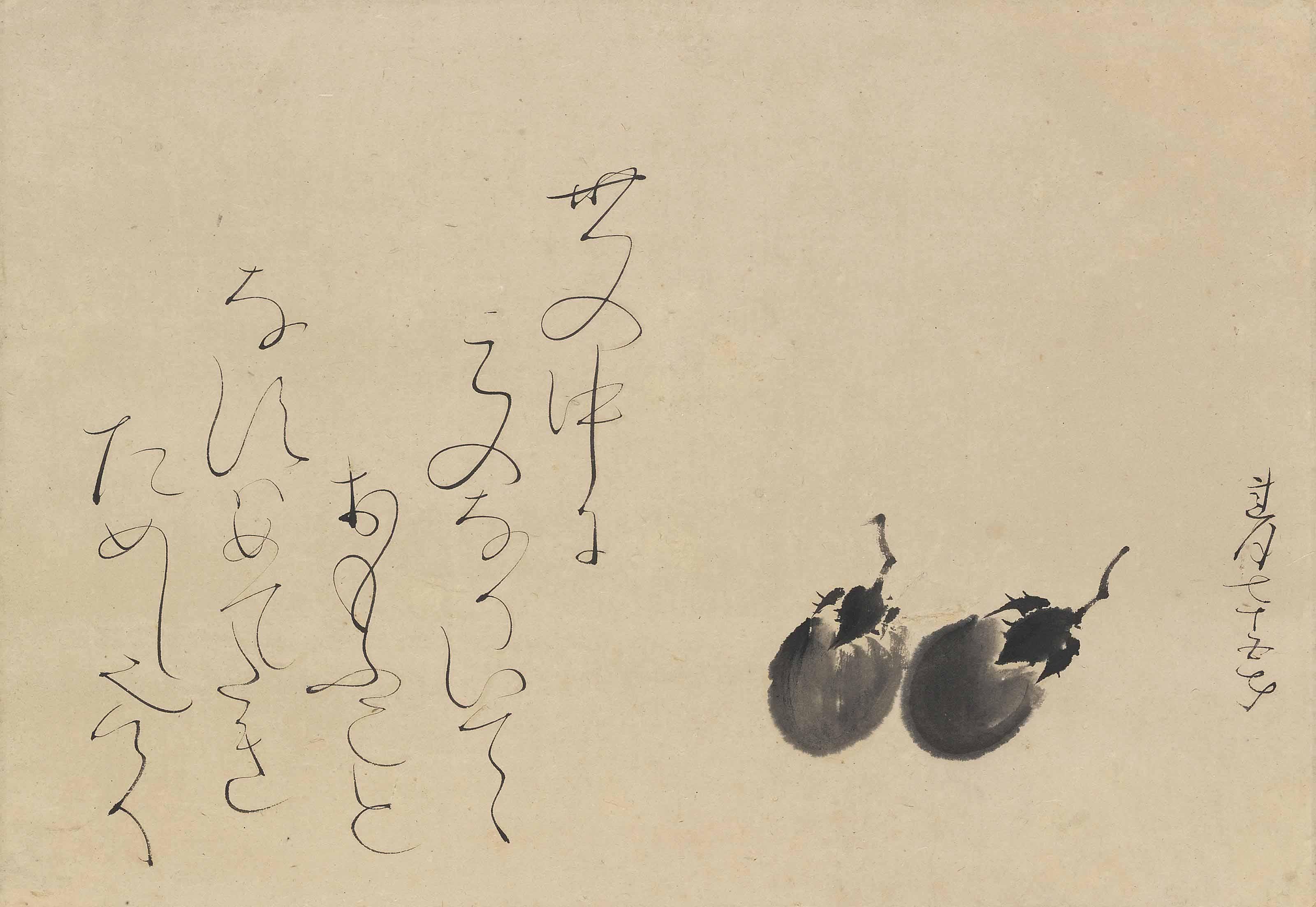 Otagaki Rengetsu (1791-1875) and Tomioka Tessai (1836-1924)
