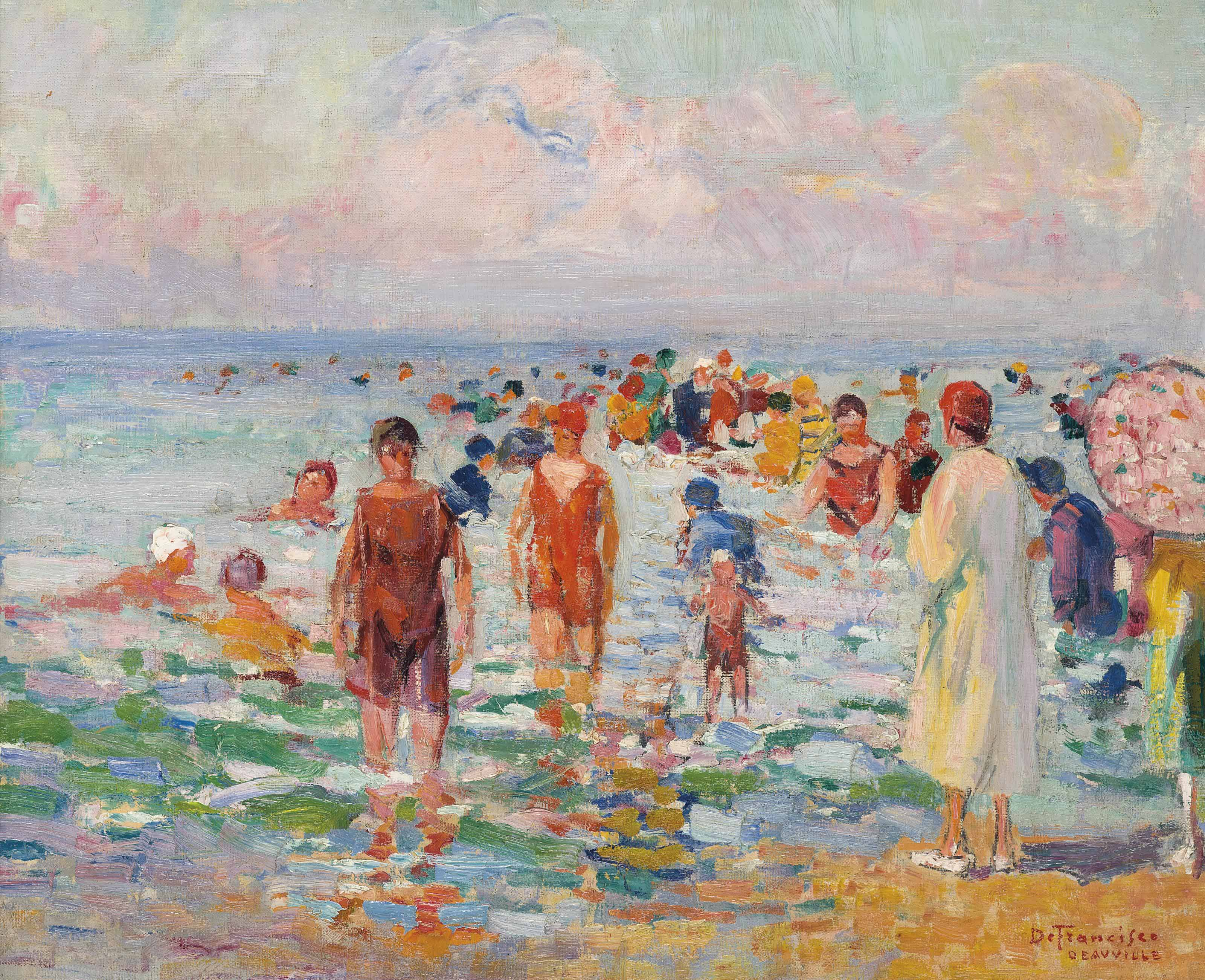Baigneuses, Deauville