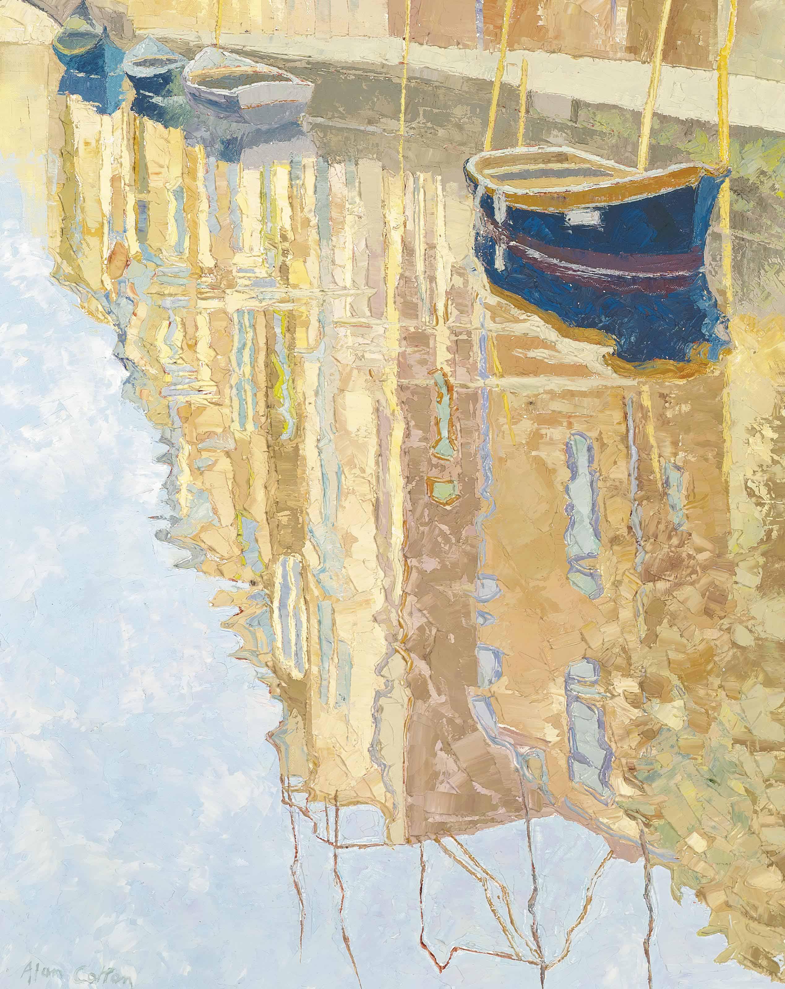 Venice - Reflections of Sunlight Walls Autumn