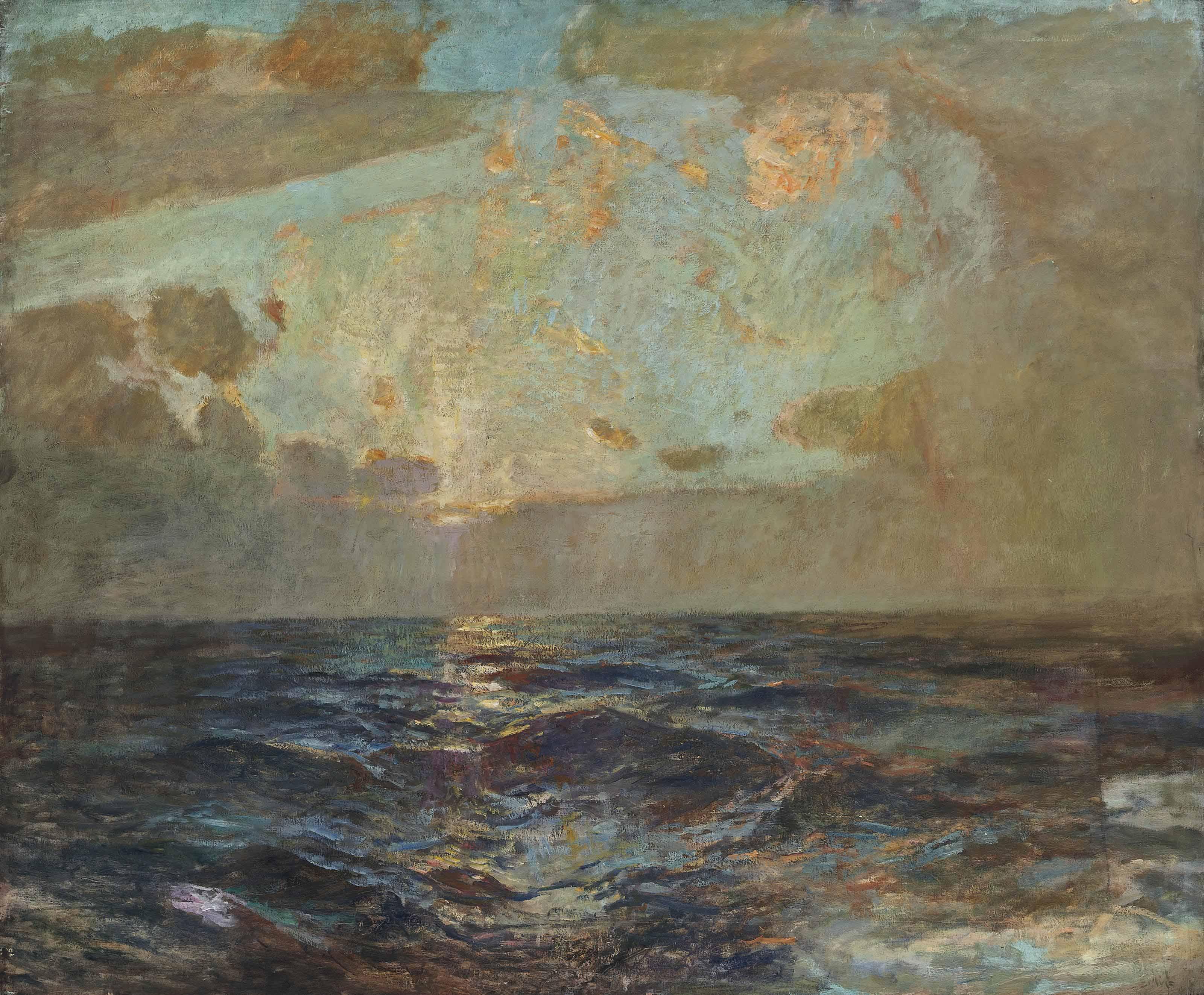 St Ives: golden dawn