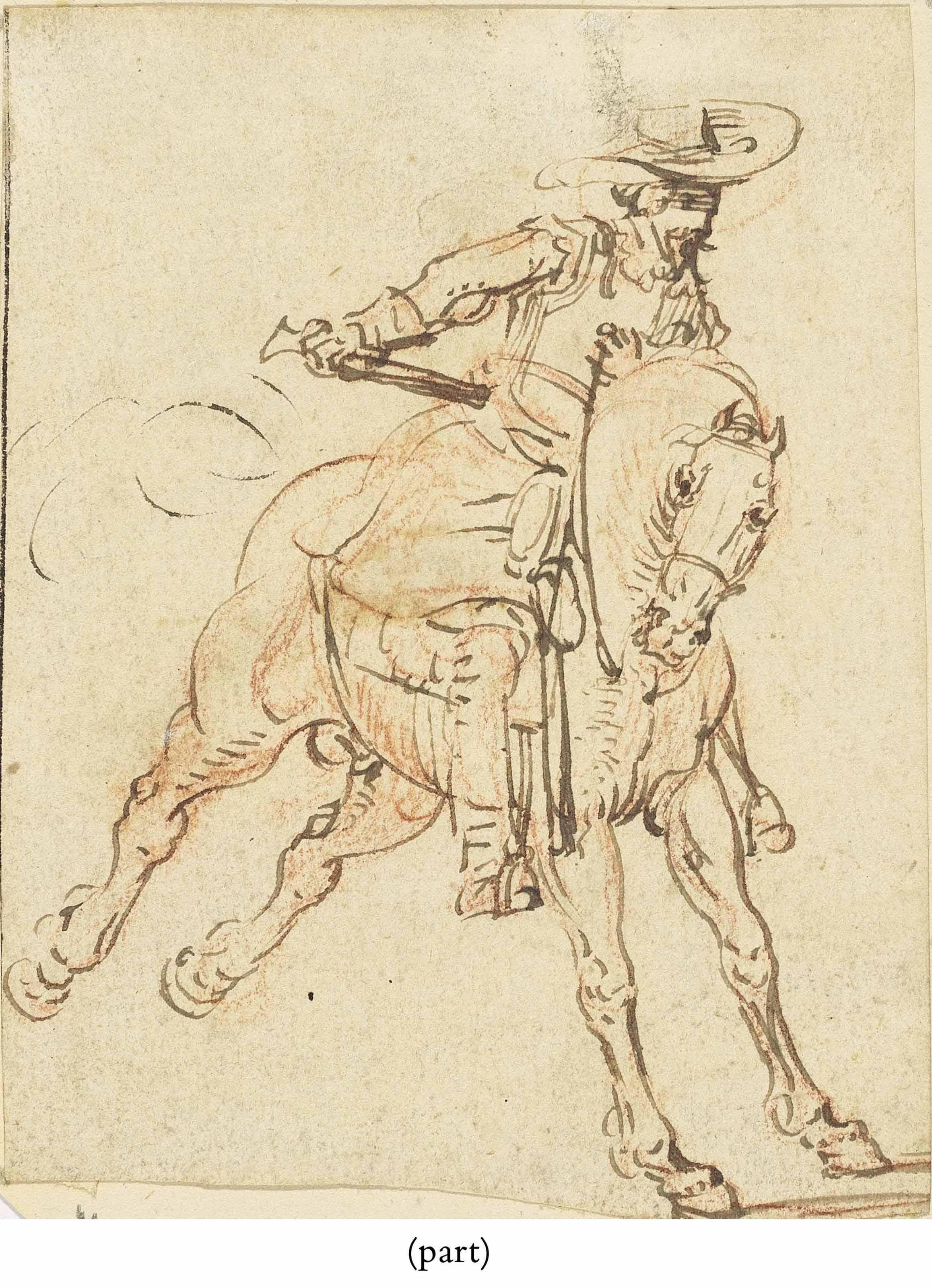 A horseman