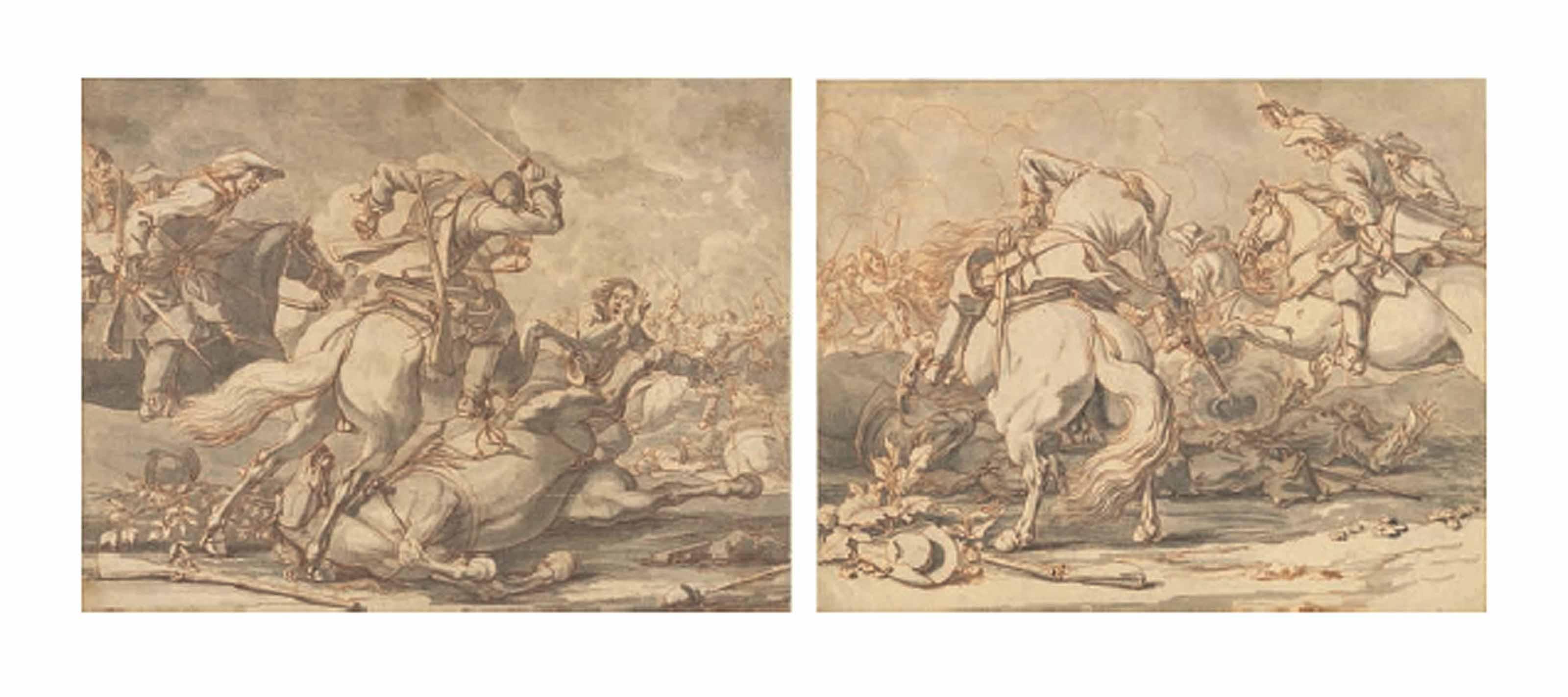 Cavalry skirmishes