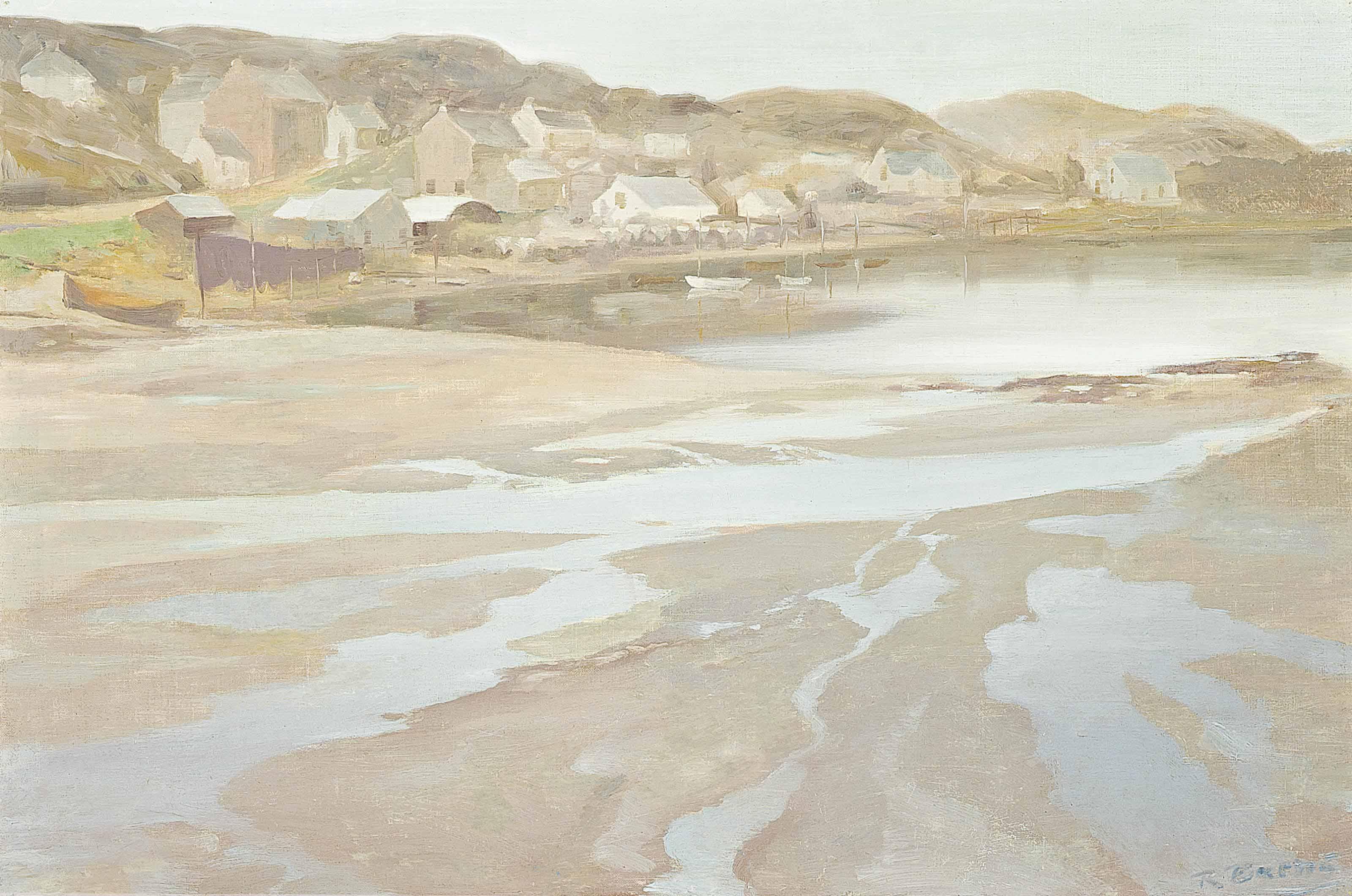A loch-side village
