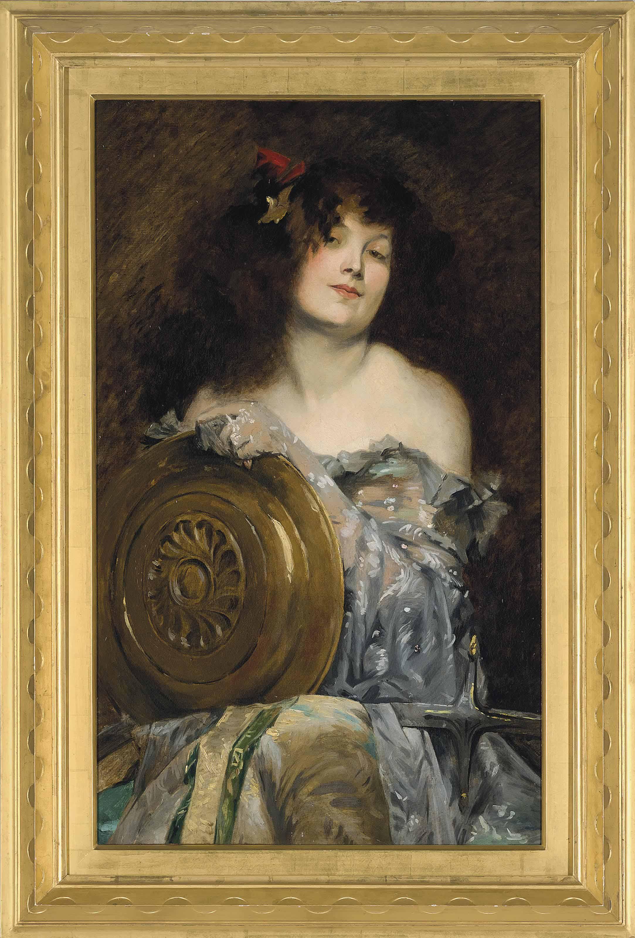 Portrait of the artist as Salomé