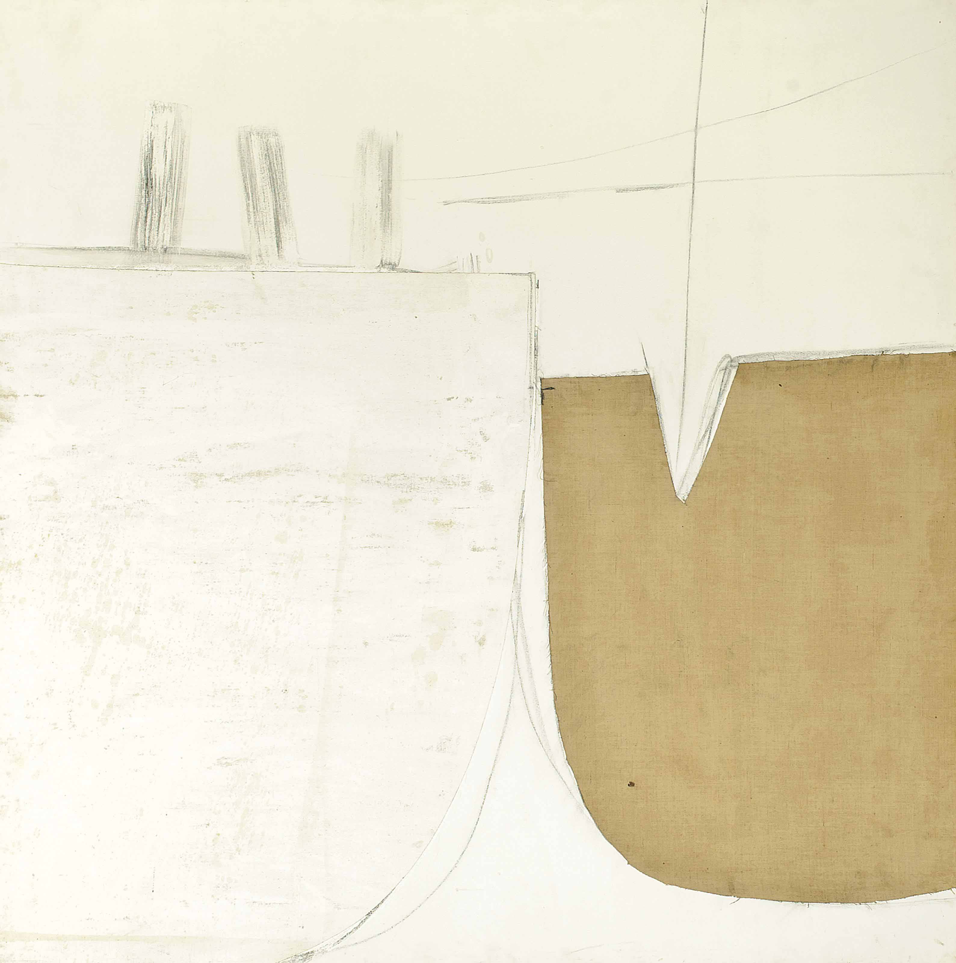 White Painting (Bollards)