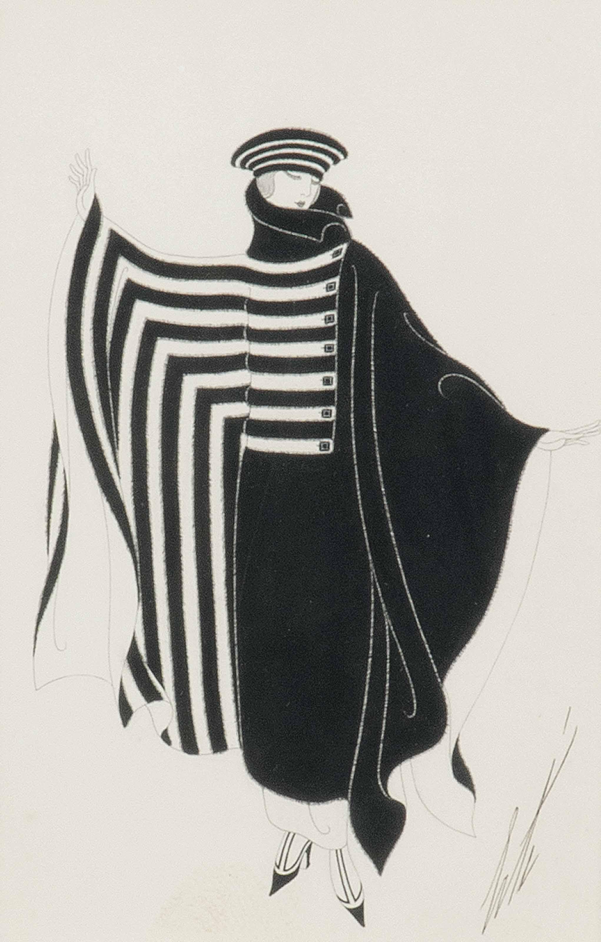 'Le manteau' - A fashion design