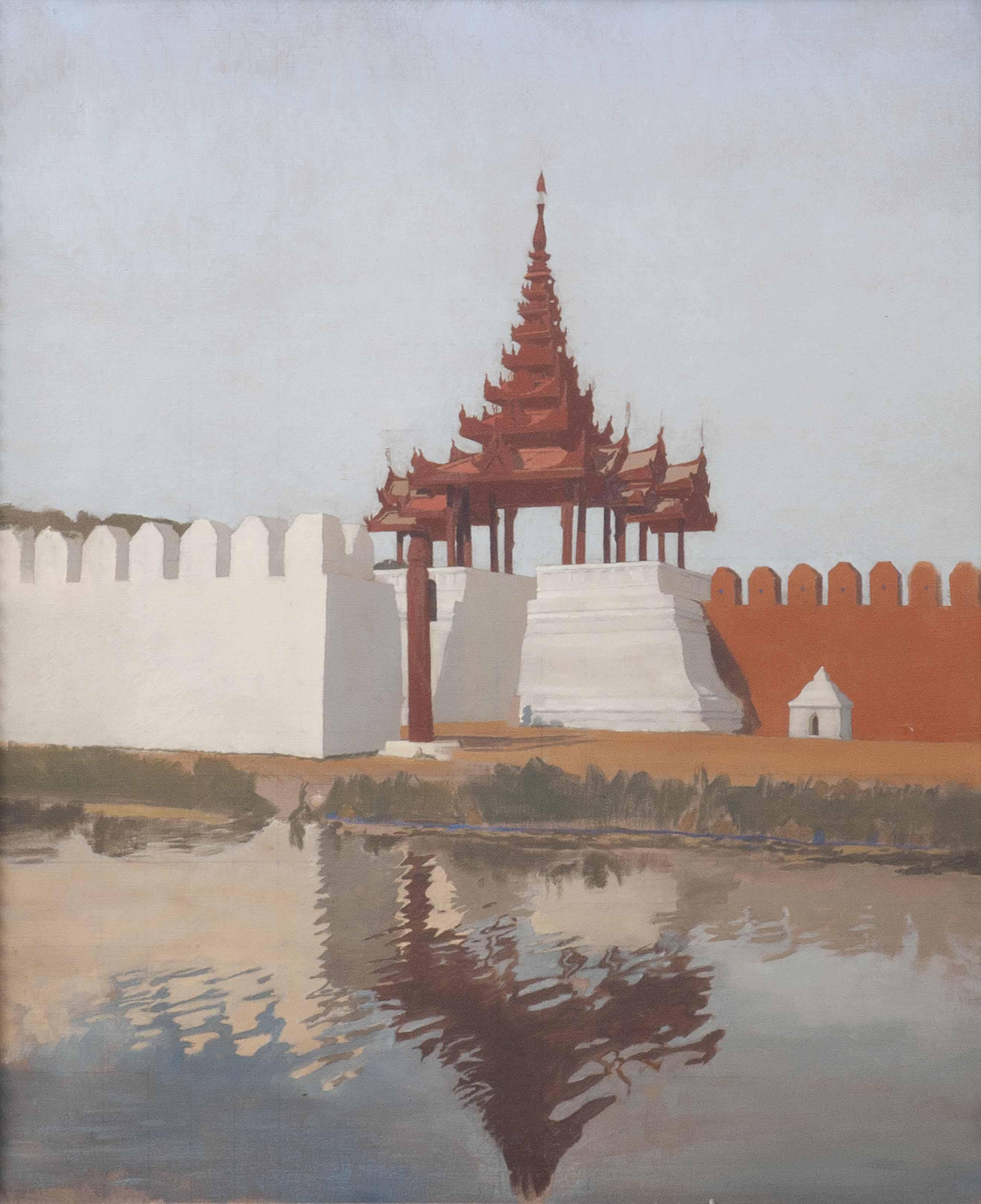 Mandalay Moat X; Gateway, East Moat