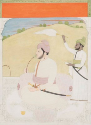 RAJA SANSAR CHAND OF KANGRA
