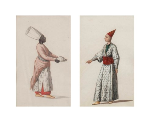 TWO STUDIES OF OTTOMAN COSTUME