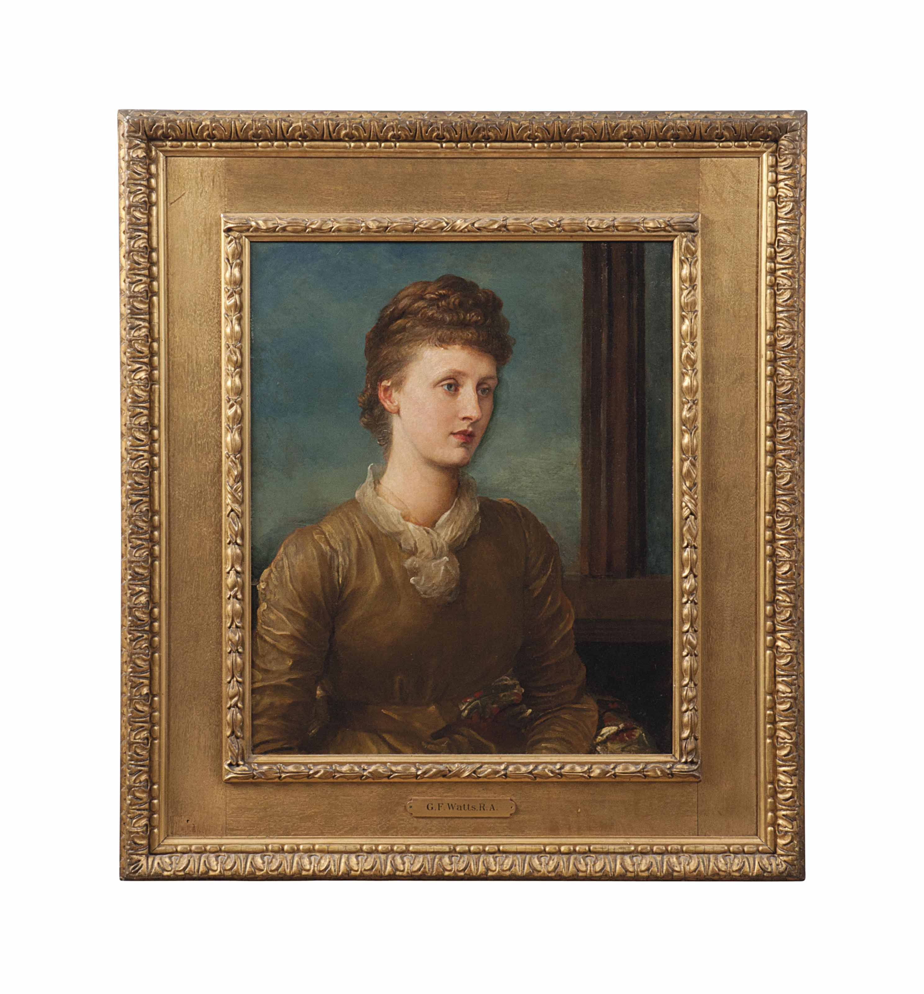Portrait of Mrs Andrew Hichens (1853-1931), née Mary Emily 'May' Prinsep, later Lady Tennyson