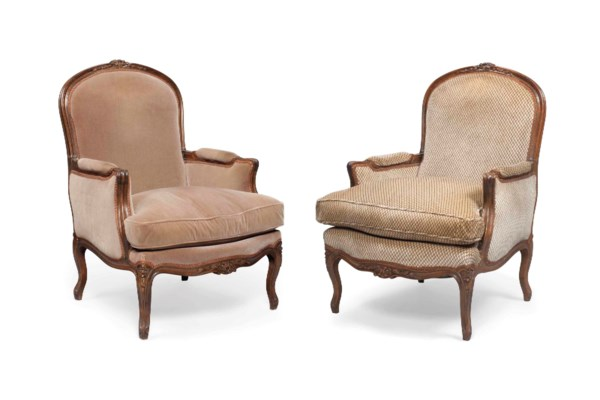 A PAIR OF LOUIS XV-STYLE BEECH