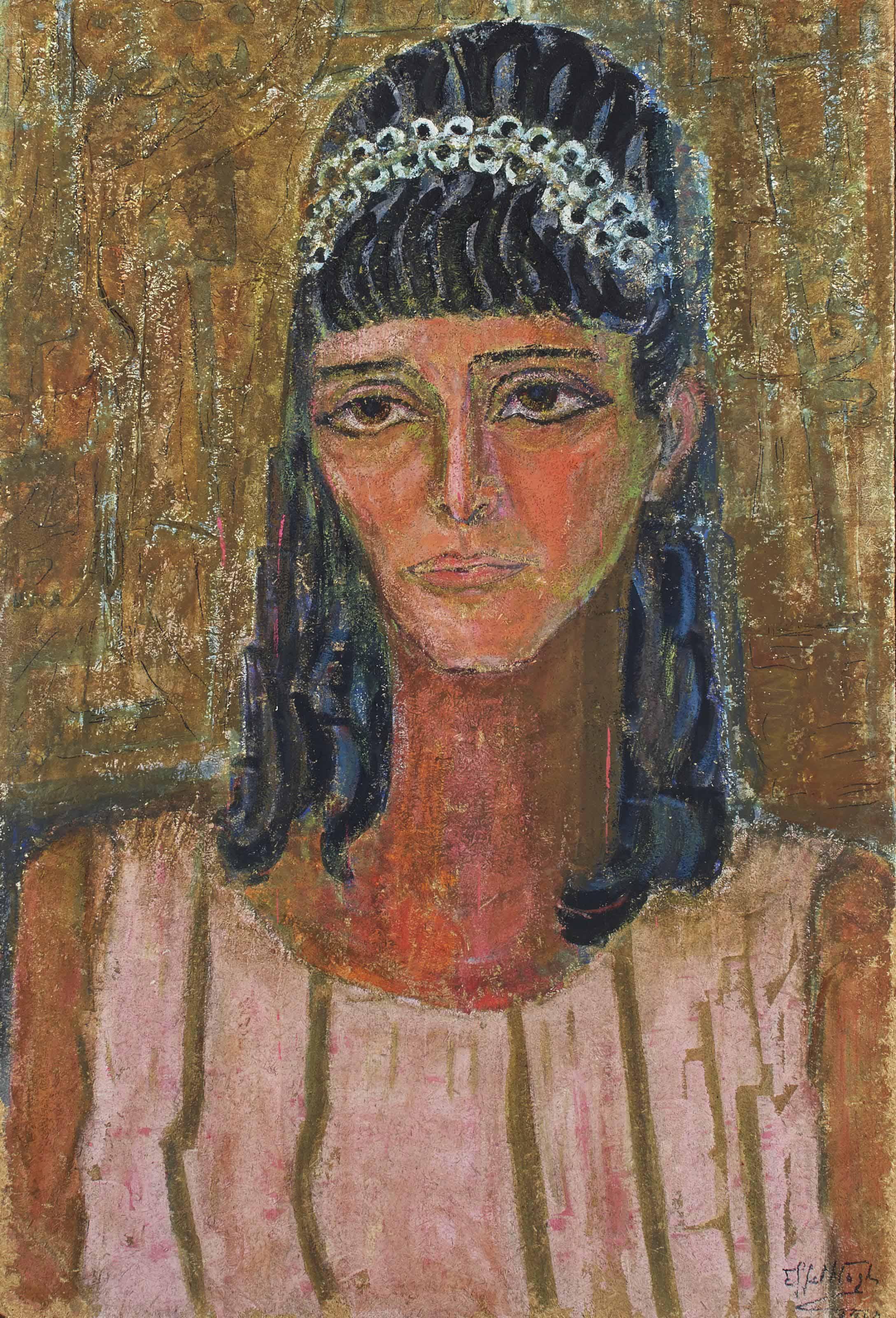 Untitled (recto); Portrait (verso)