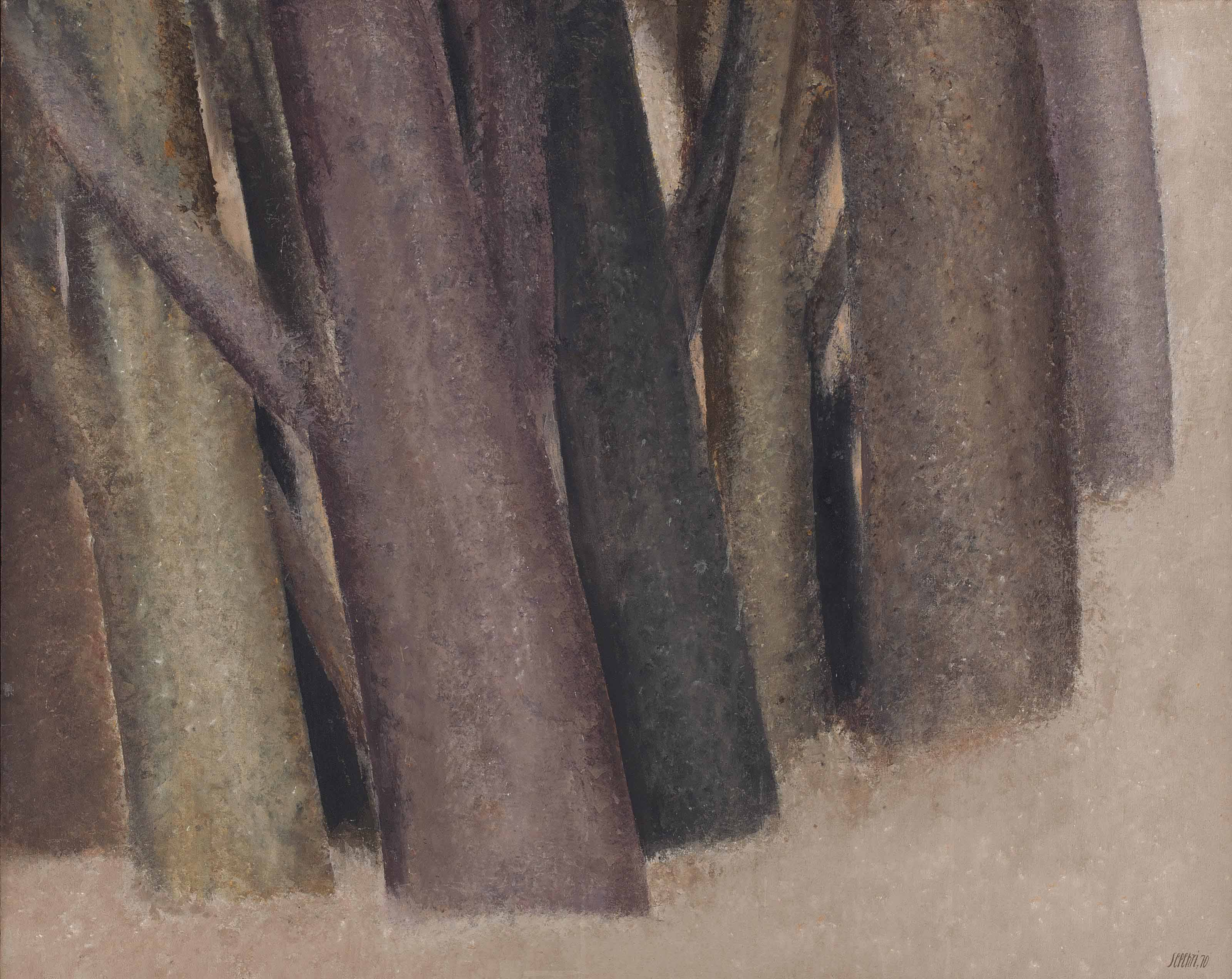 Untitled (from the Tree Trunks series)