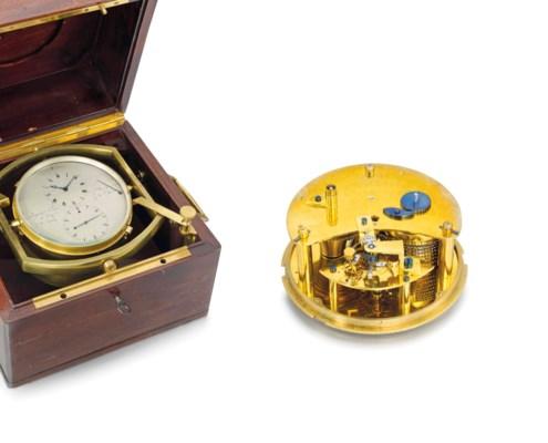 Breguet. A fine and rare brass