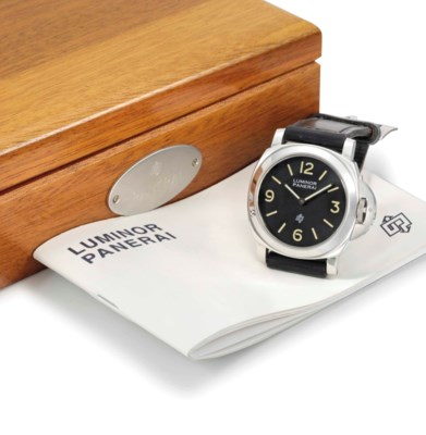 Panerai. A large and rare stai
