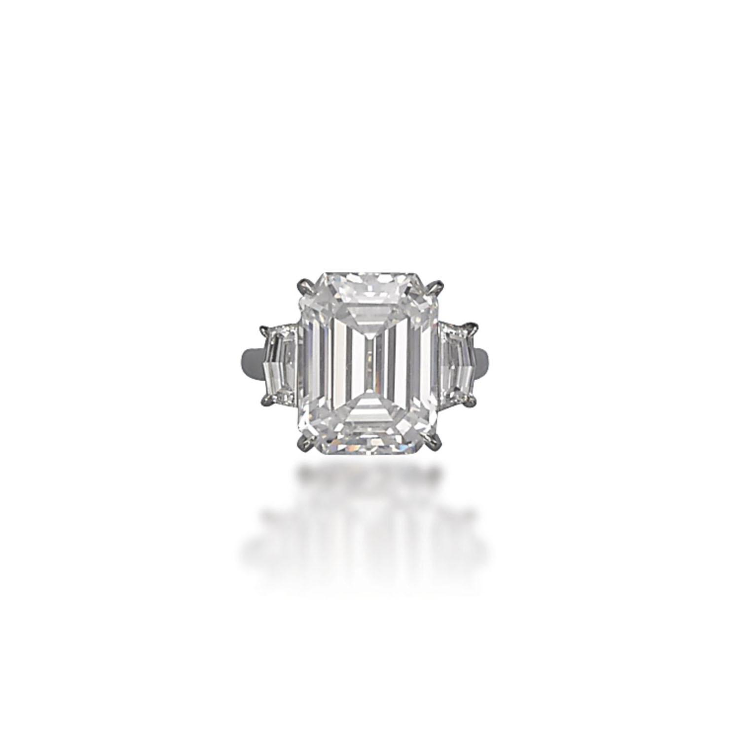 A DIAMOND RING, BY OSCAR HEYMAN