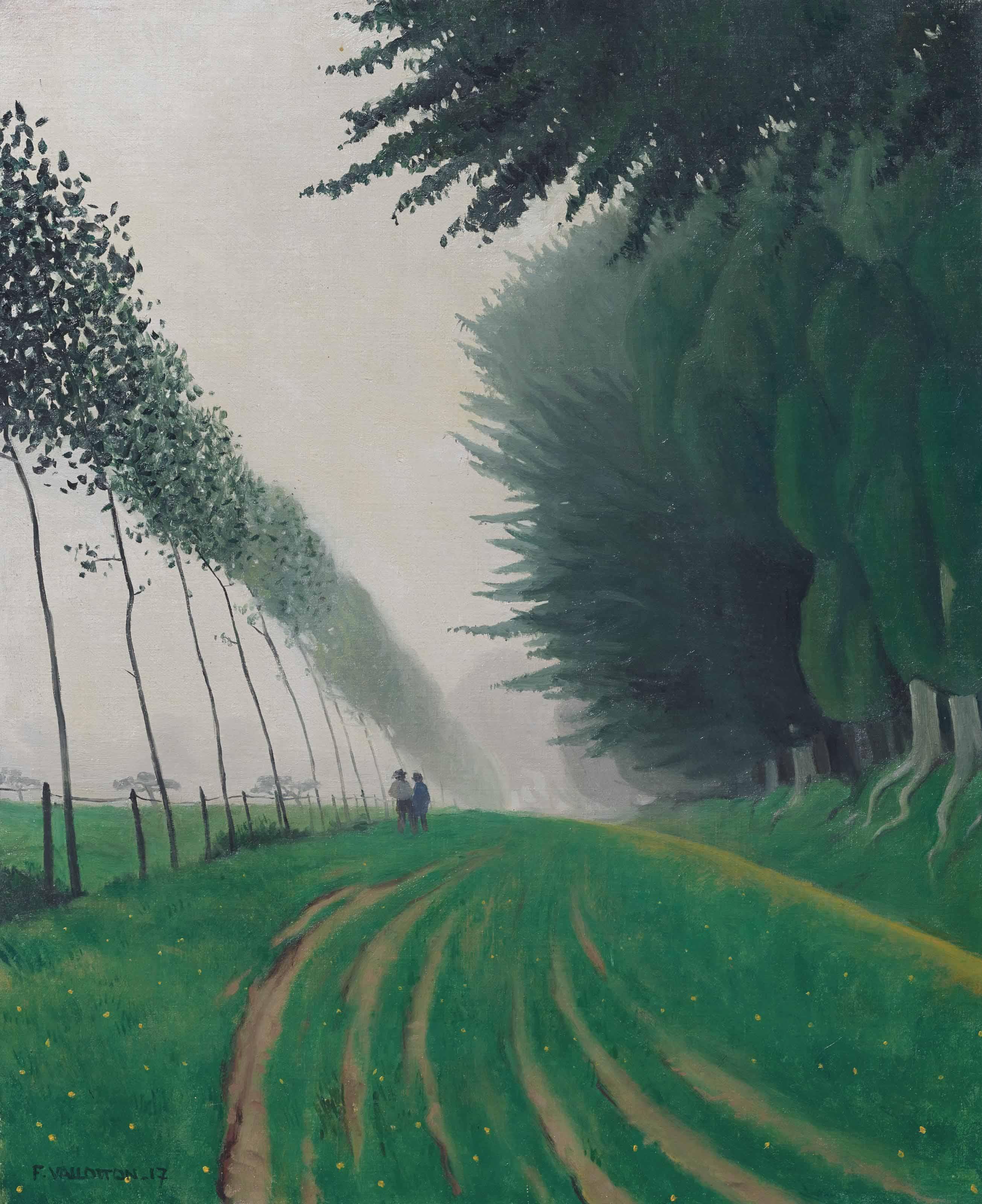 Effet de brume, Honfleur, 1917