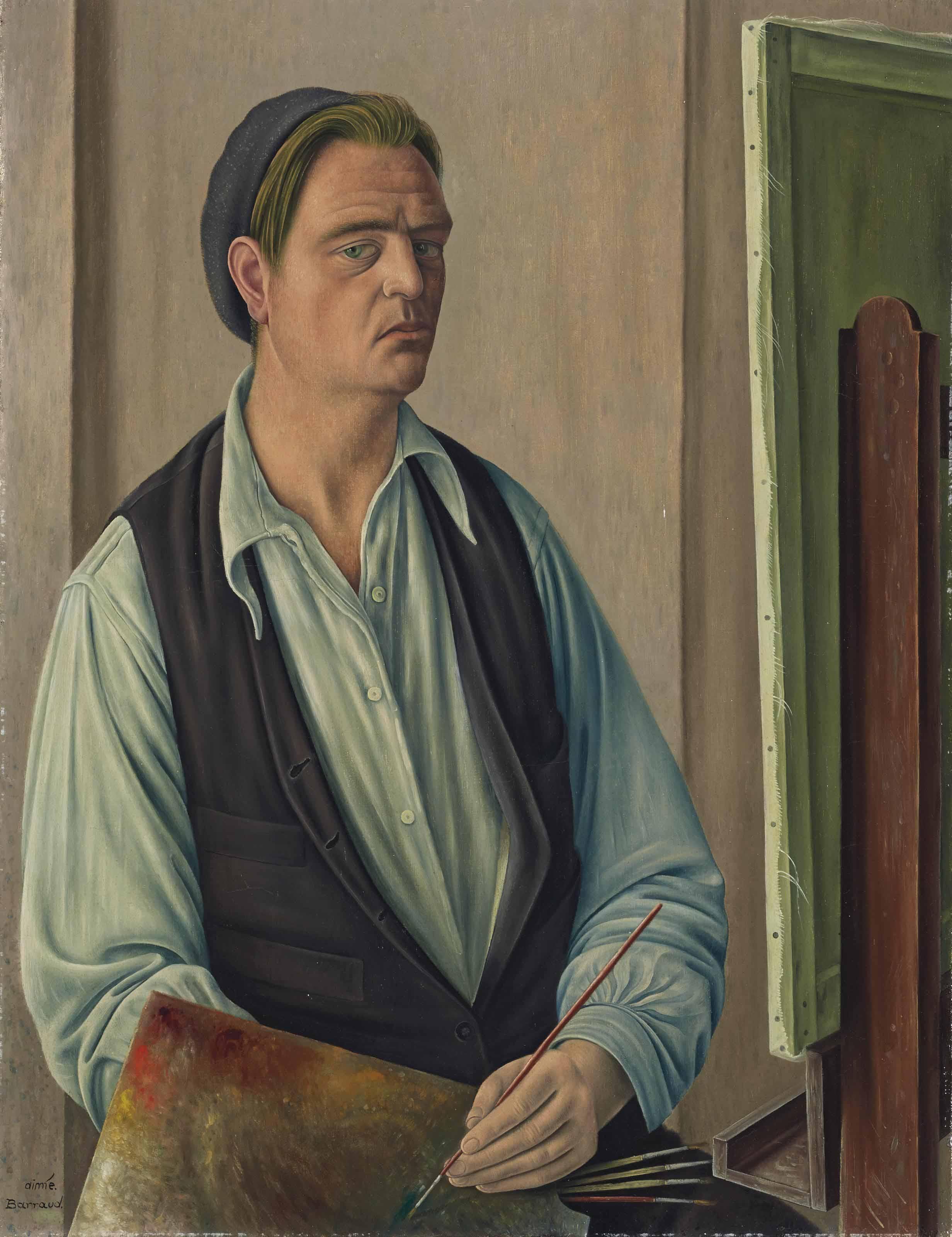 Autoportrait au béret, 1934
