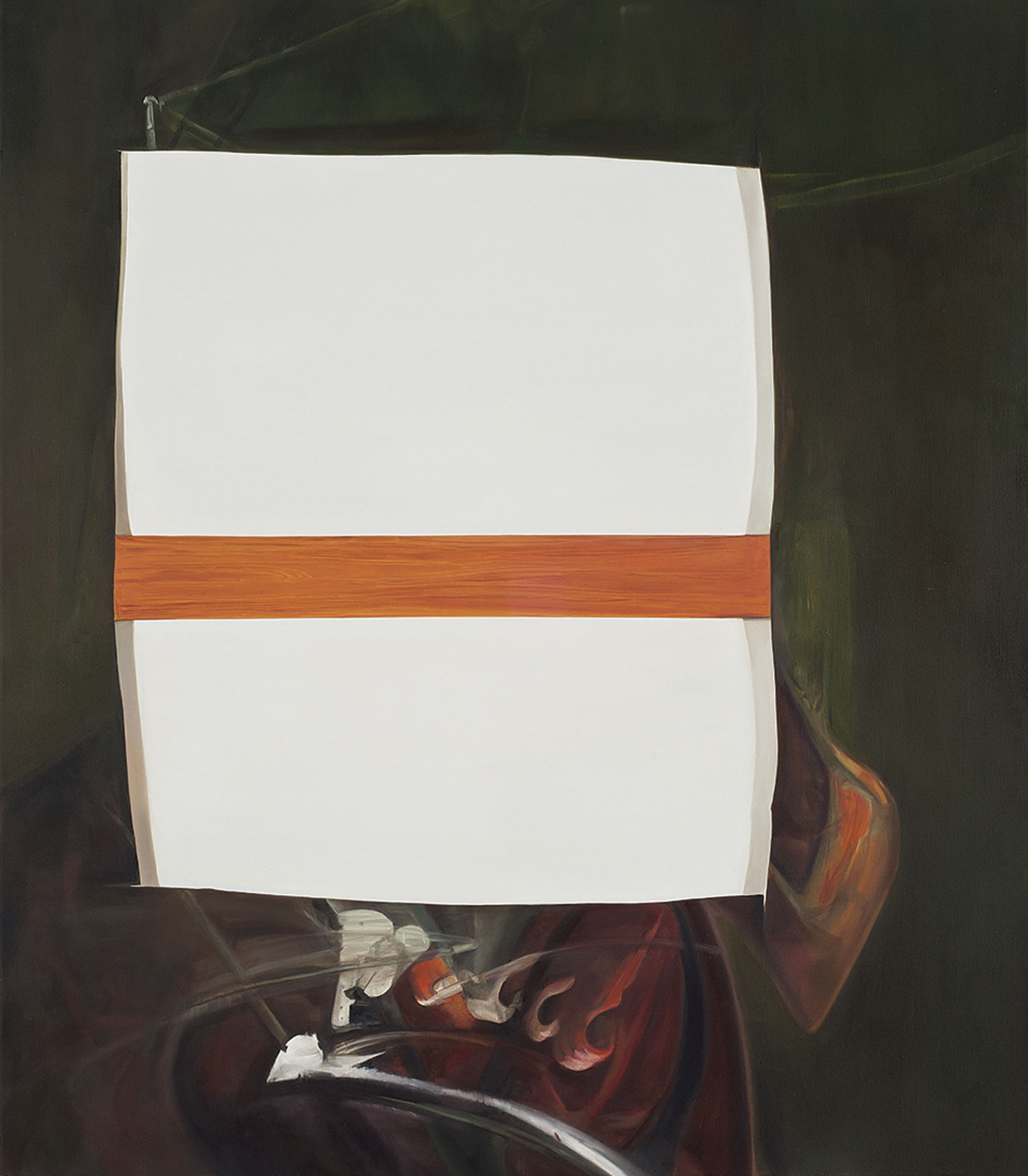 Destroyed Painting (after Francis Bacon)