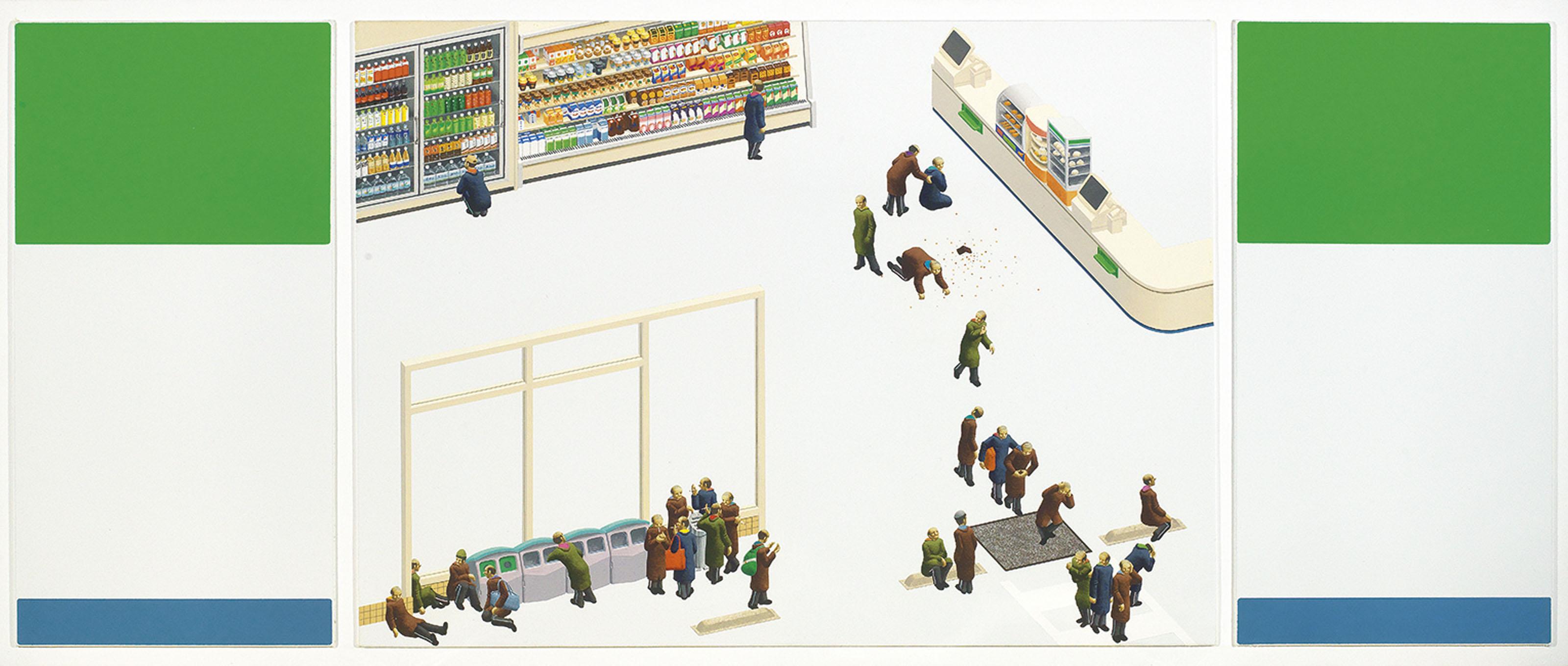 Convenience Store Blues - B