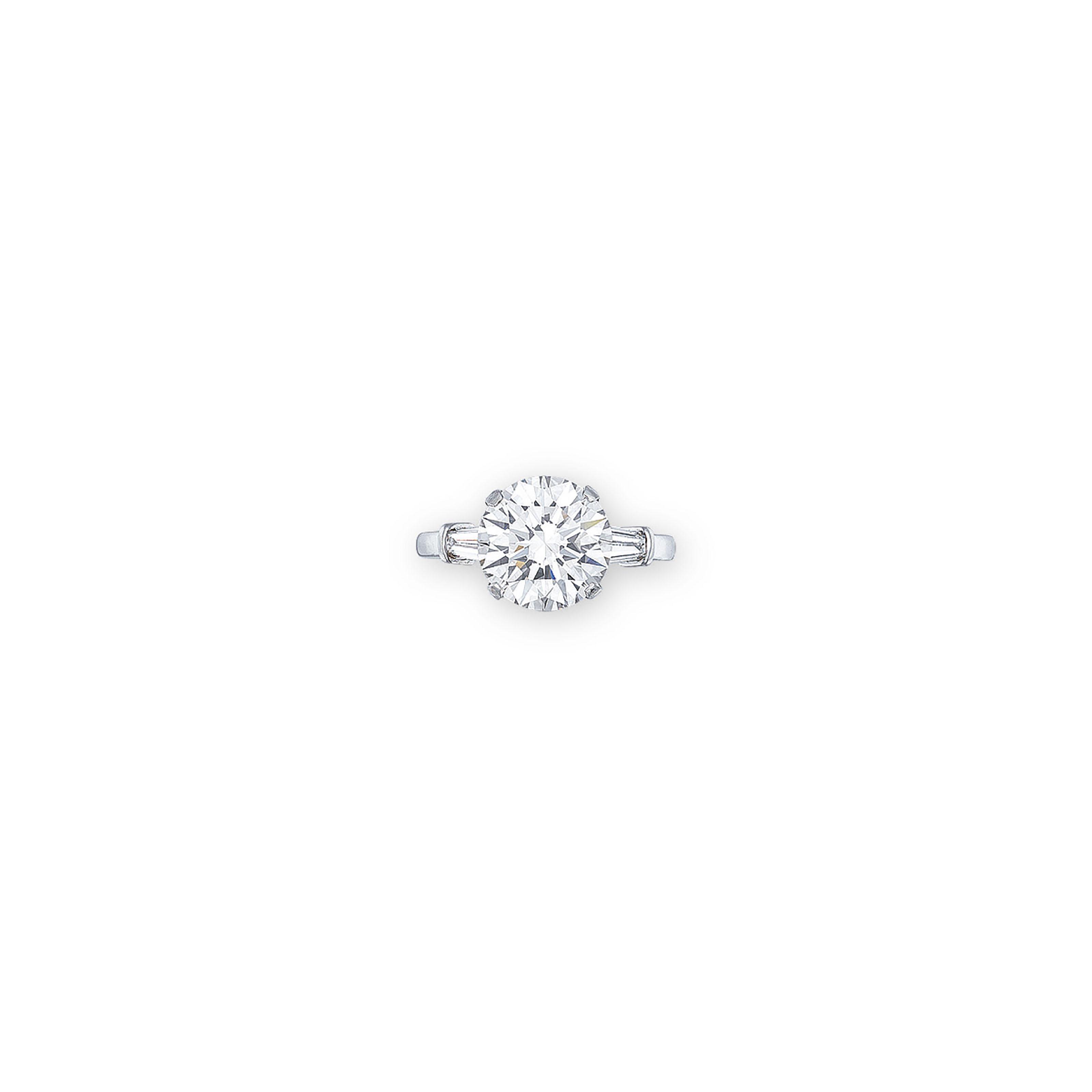 A DIAMOND RING, BY MIKIMOTO