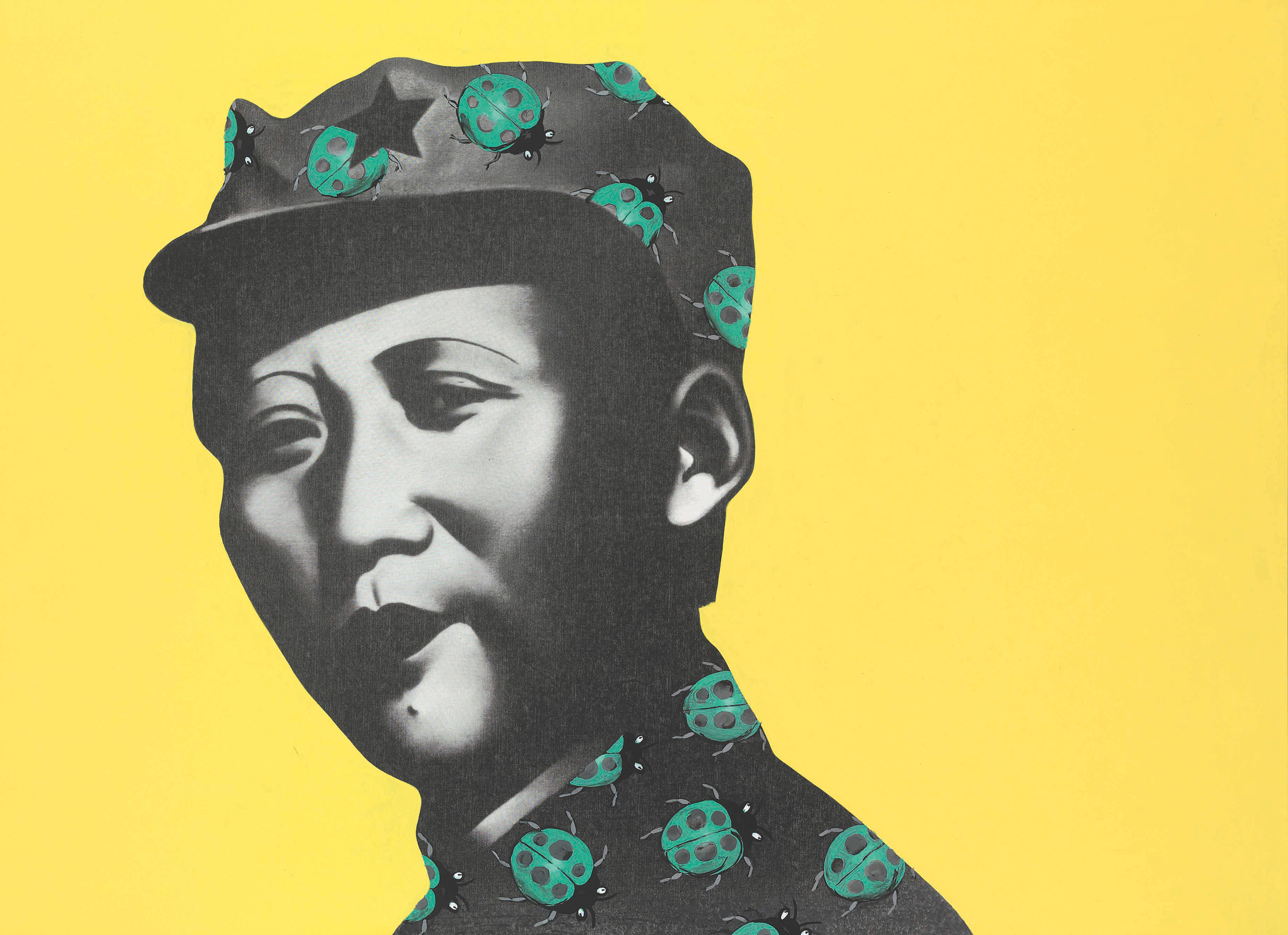 Rouge Series: Mao With Yellow Background