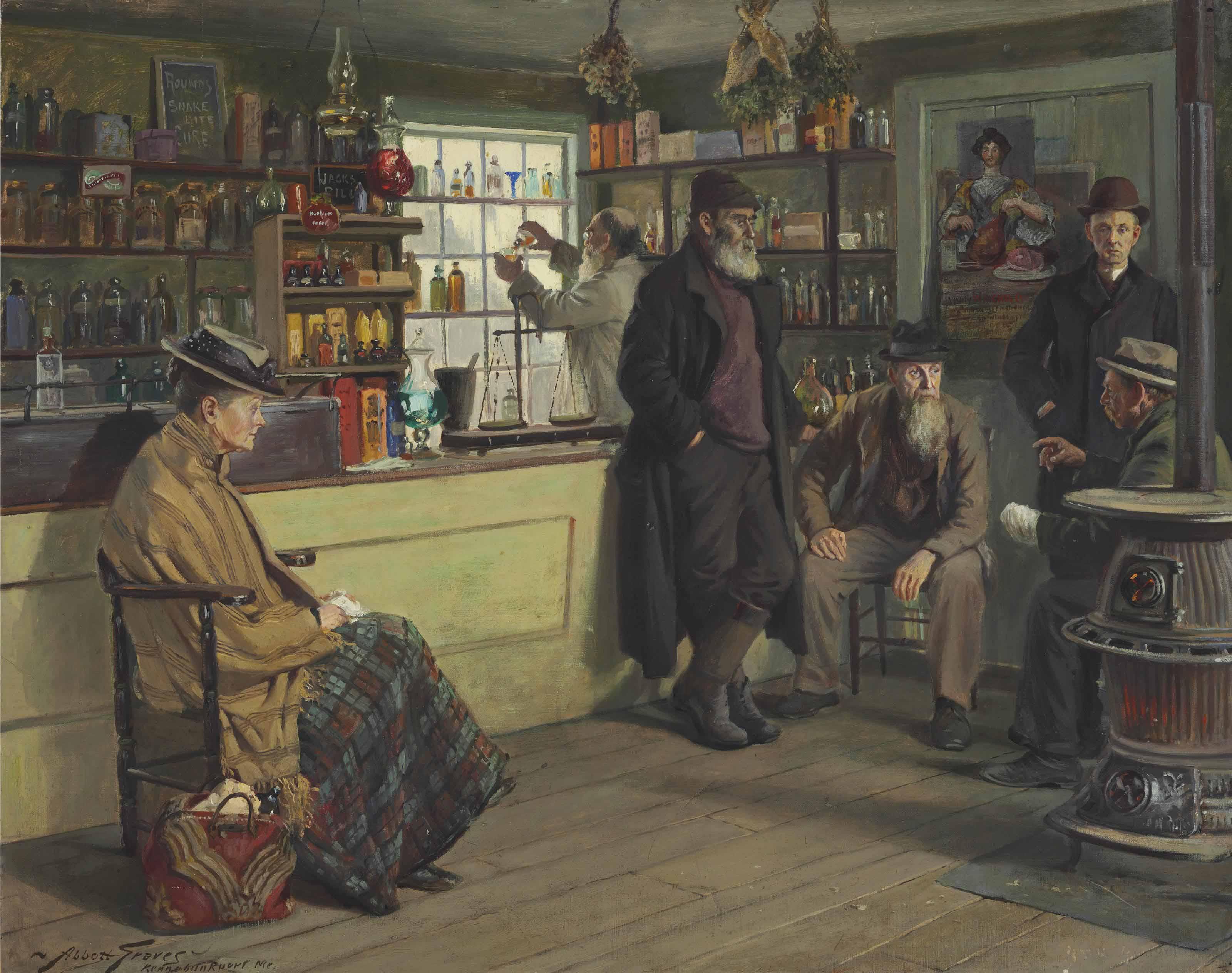 Ye Olde Time Drugge Shop