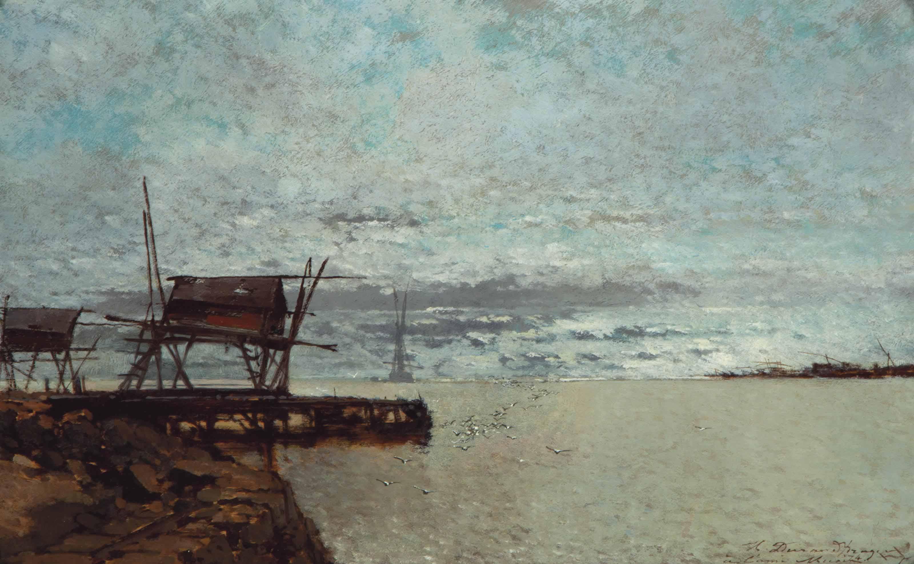 An old pier