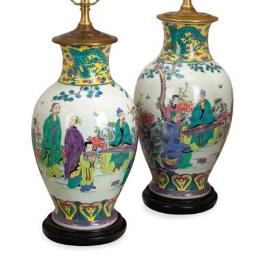 A PAIR OF CHINESE PORCELAIN OV