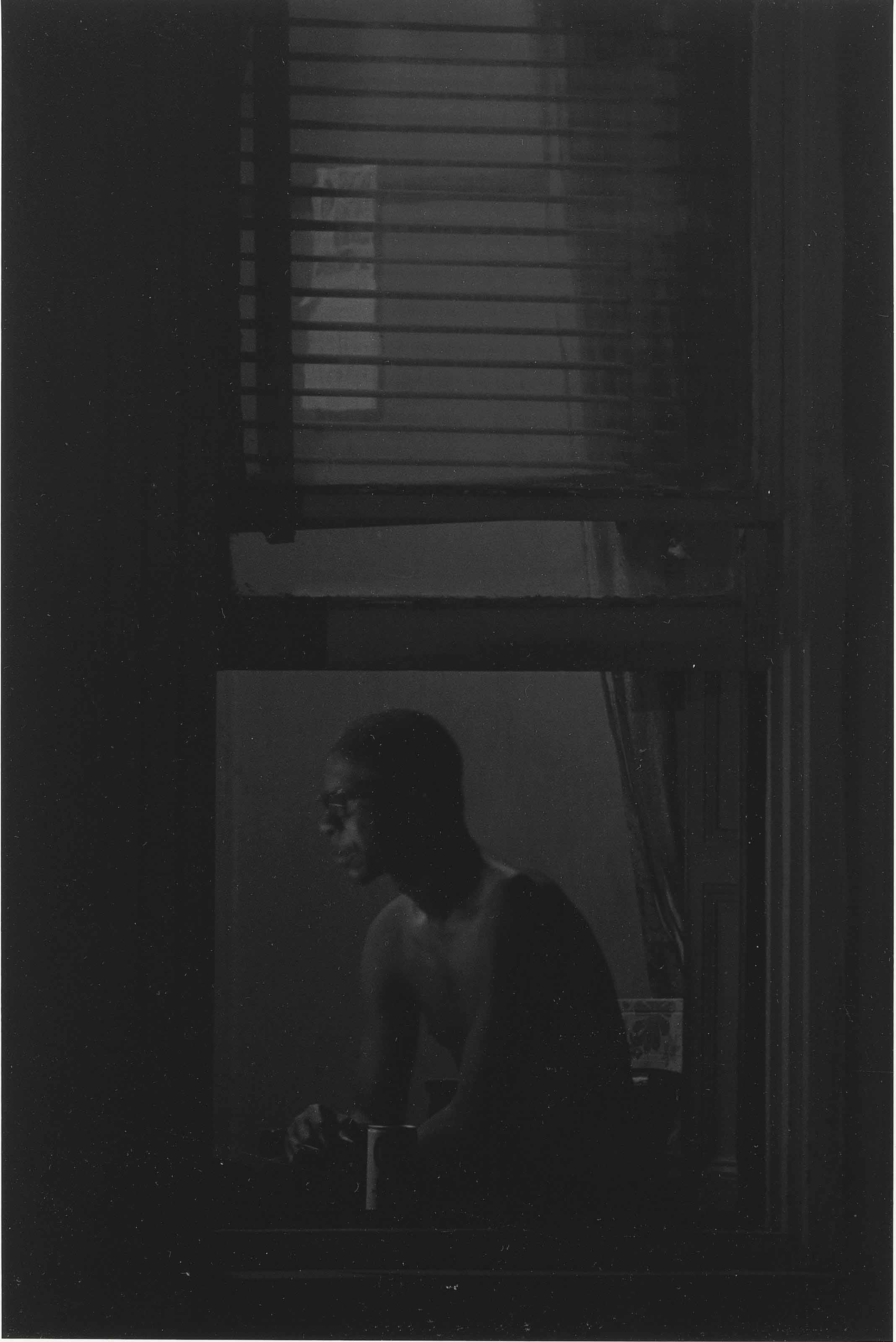 Man in Window, New York, 1978