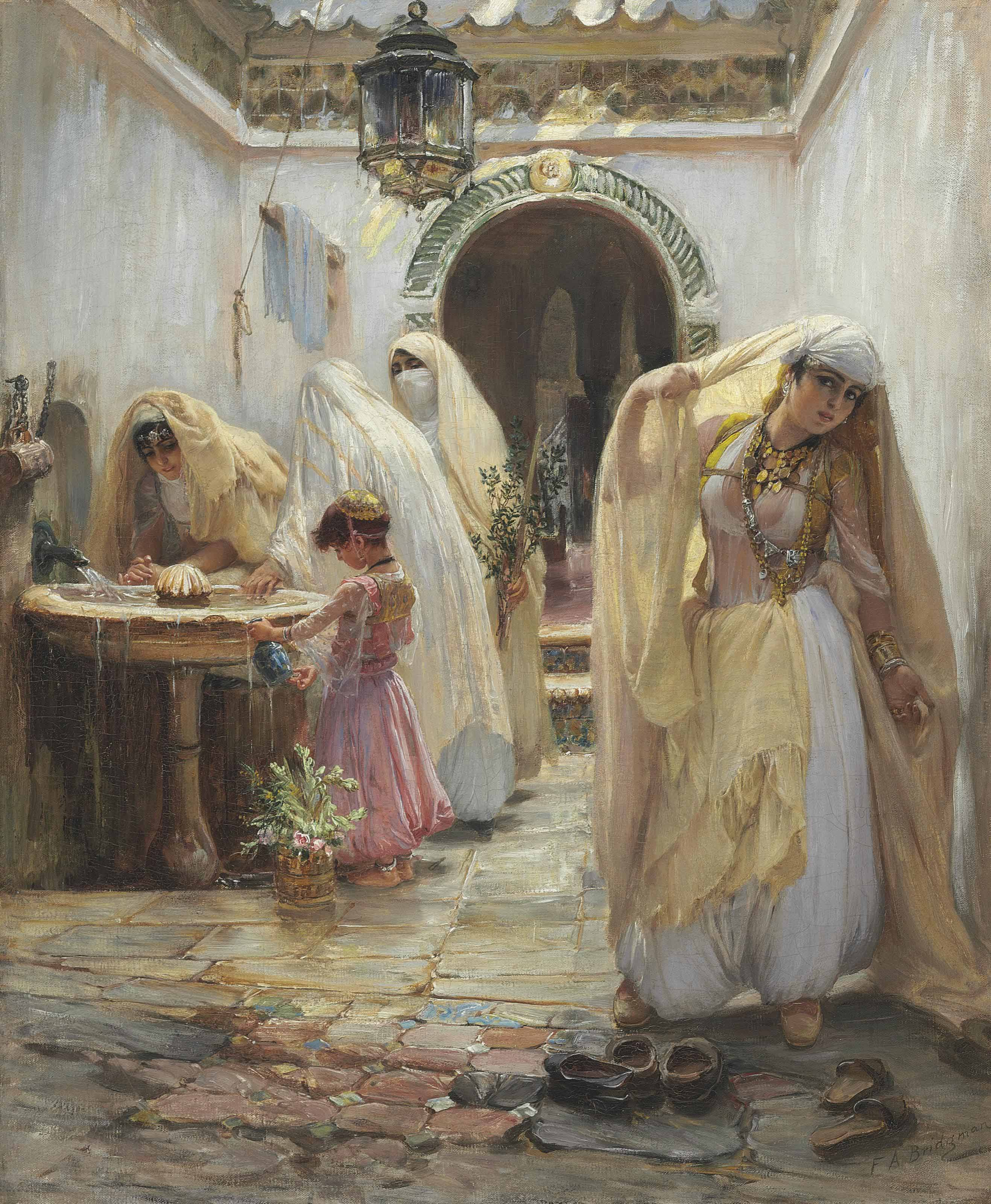 Women at the Fountain