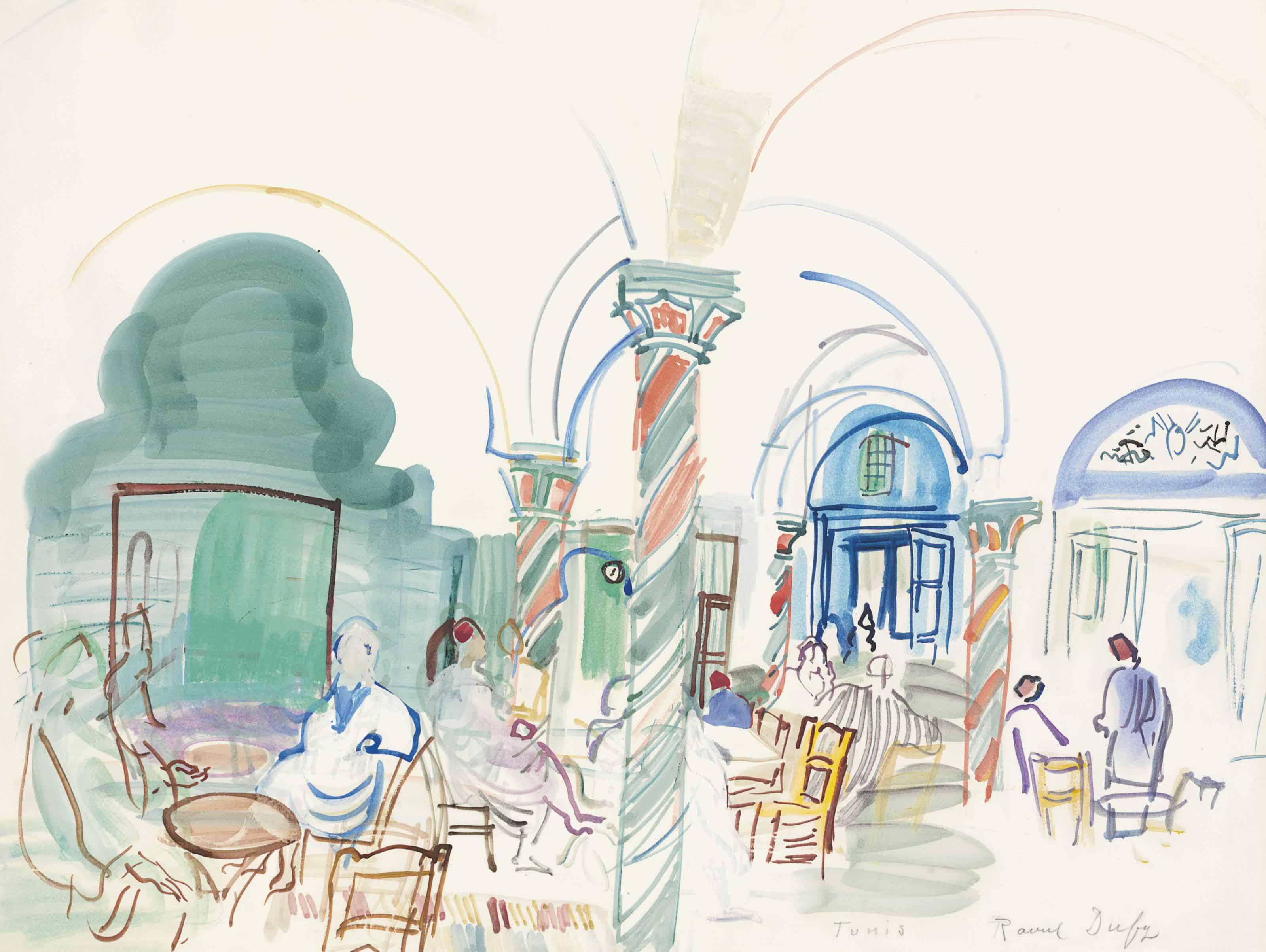 Café à Tunis
